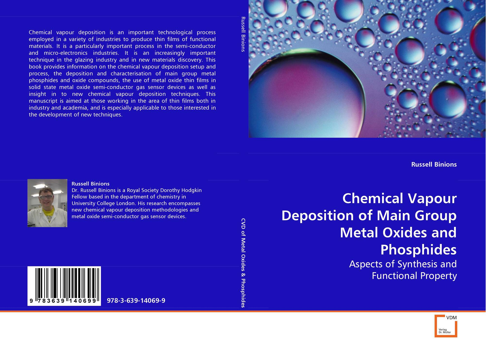 Chemical Vapour Deposition Of Main Group Metaloxides And Phosphides Vapor Cvd Bookcover Metal Oxides