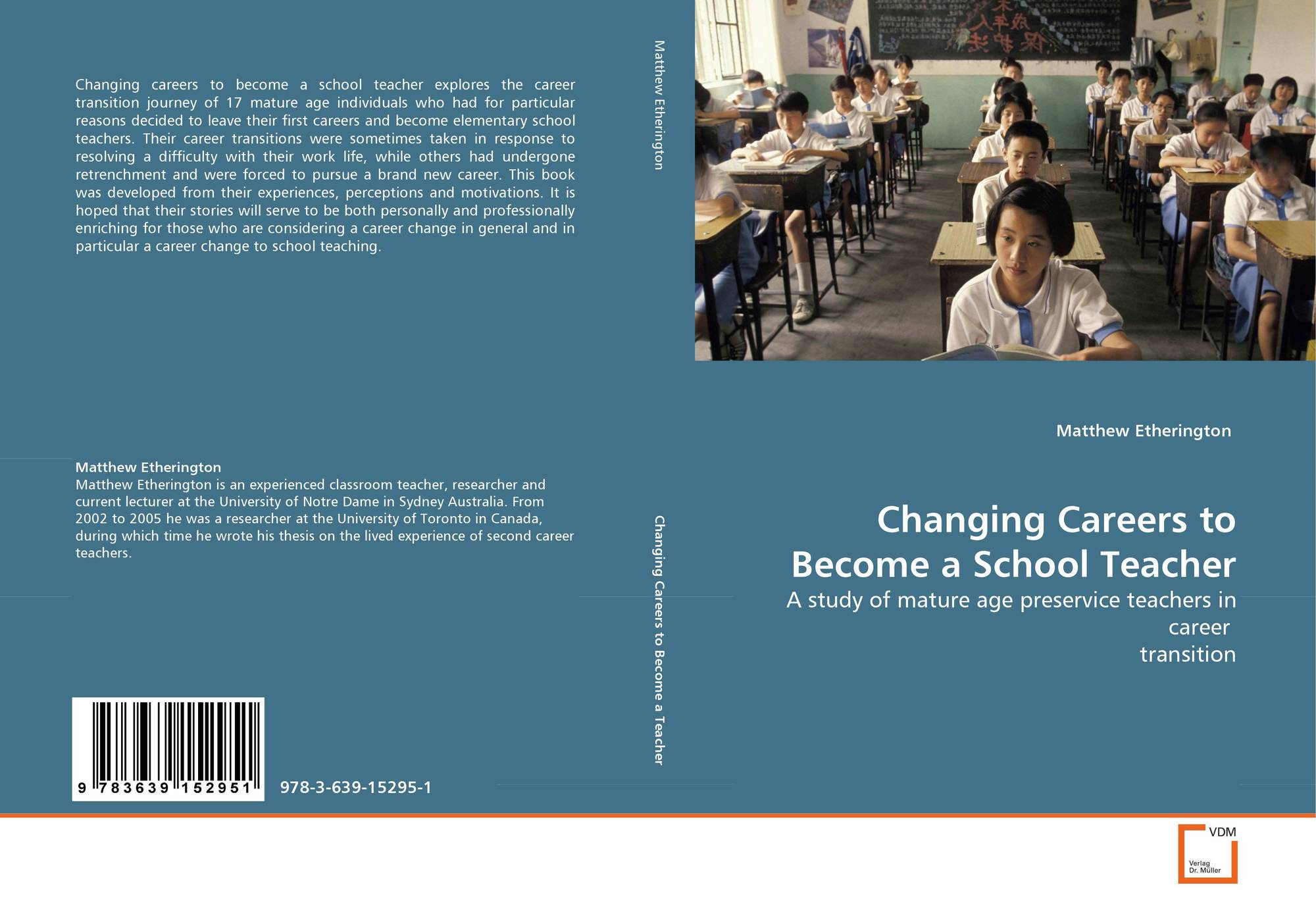 search results for motivation to become a doctor bookcover of changing careers to become a school teacher