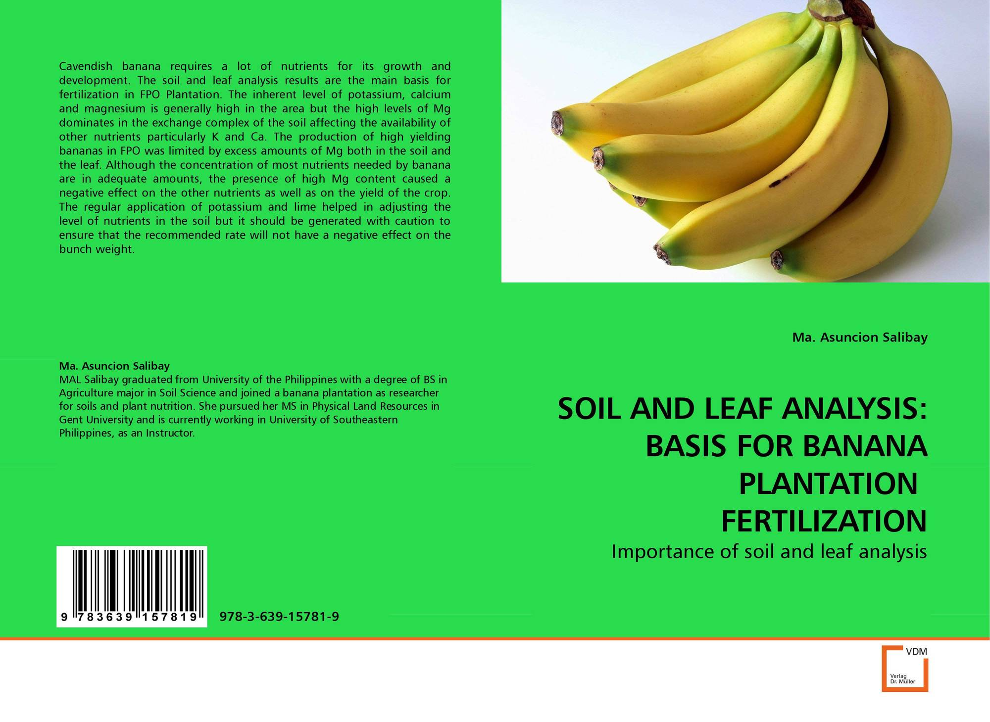 an analysis of soil and fertilization Soil fertility refers to the ability of a soil to sustain agricultural plant growth, ie to  provide plant  for this reason these three elements are always identified on a  commercial fertilizer analysis for example, a 10-10-15 fertilizer has 10 percent.