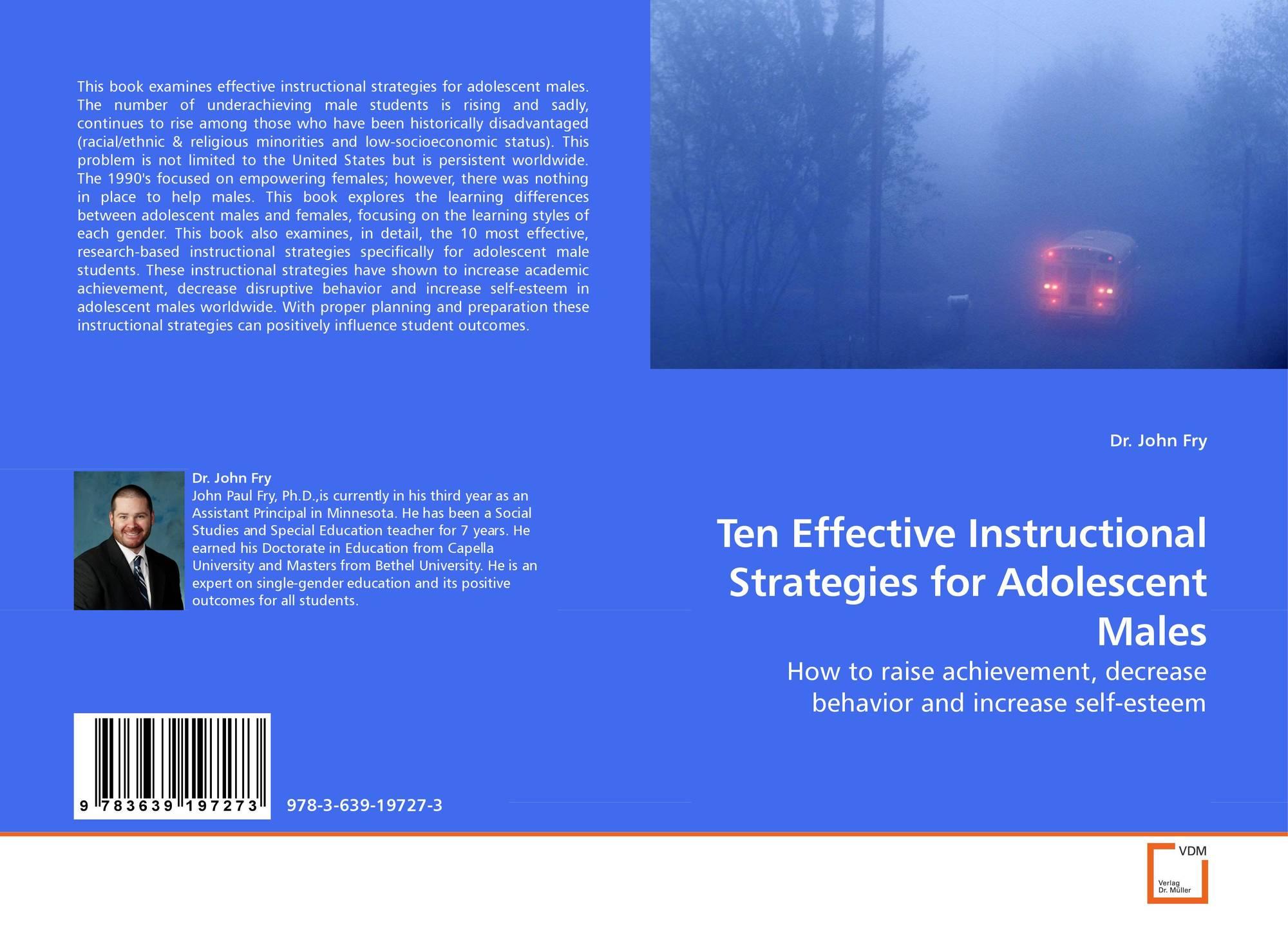 Ten Effective Instructional Strategies For Adolescent Males 978 3
