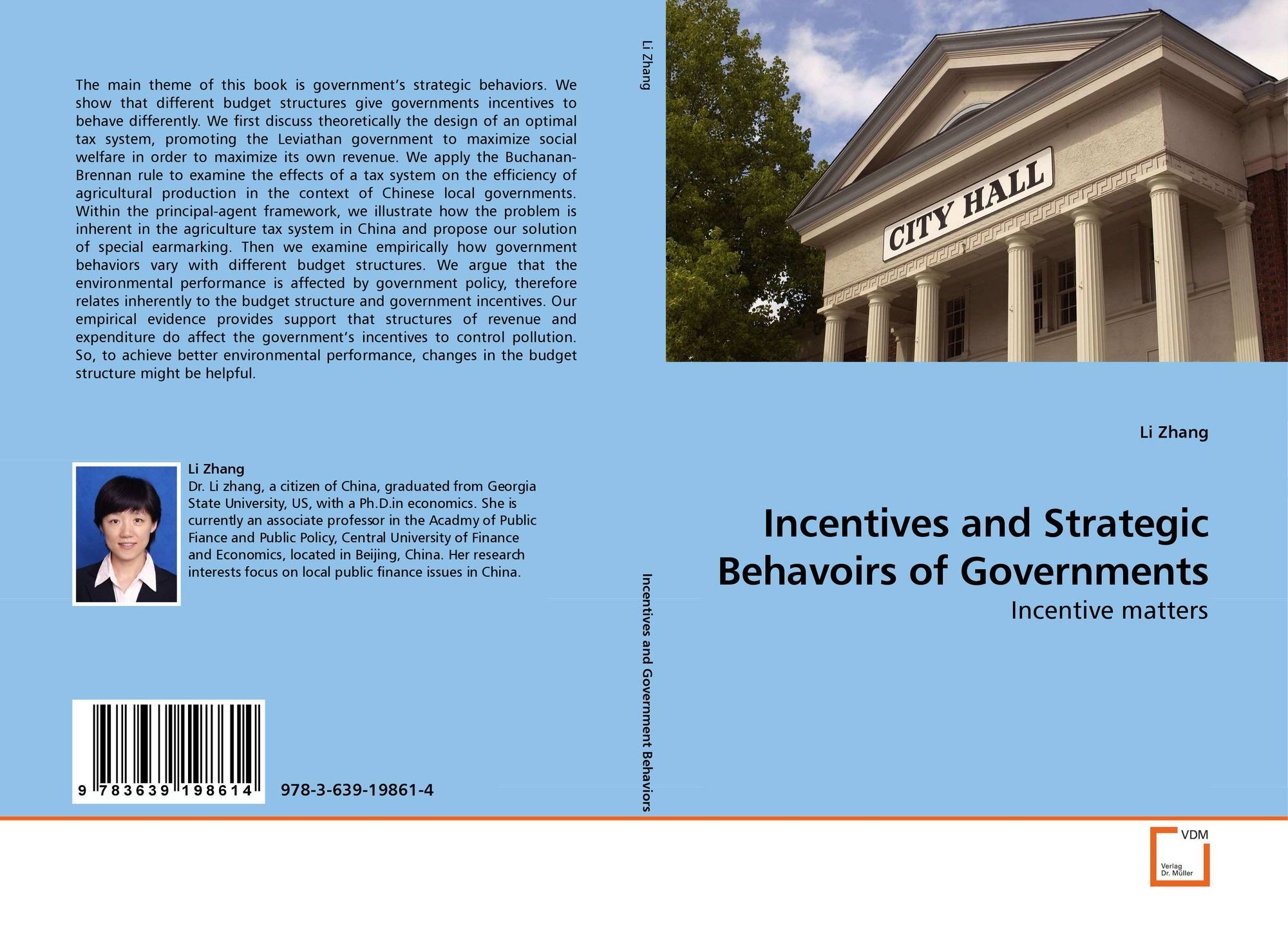 Bookcover of Incentives and Strategic Behavoirs of Governments  sc 1 st  MoreBooks! & Search results for
