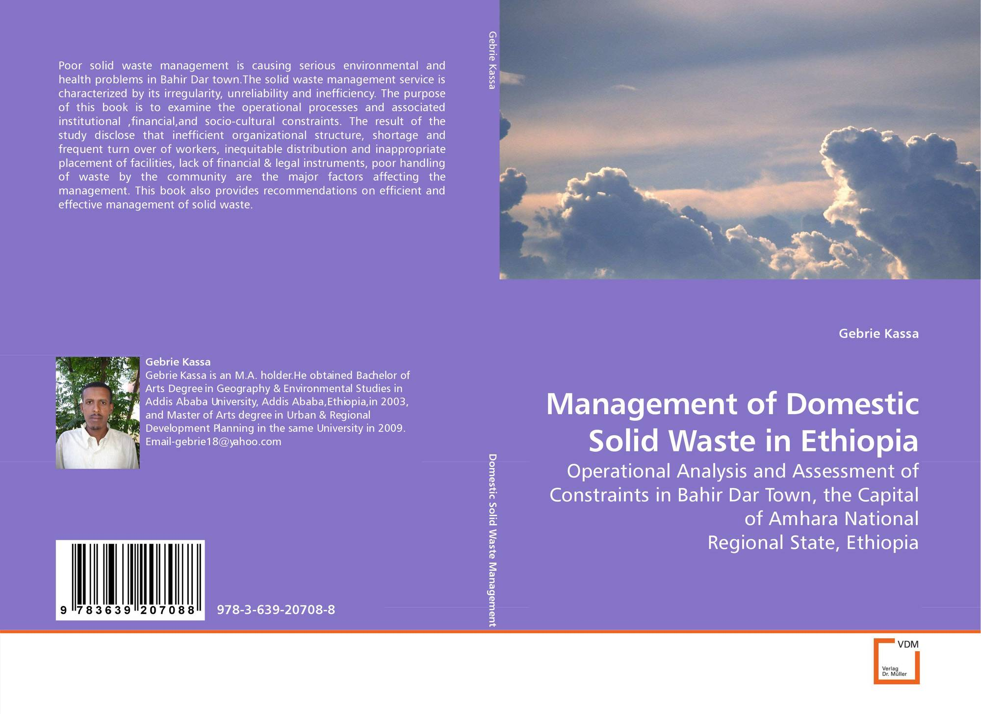 thesis on solid waste management in ethiopia