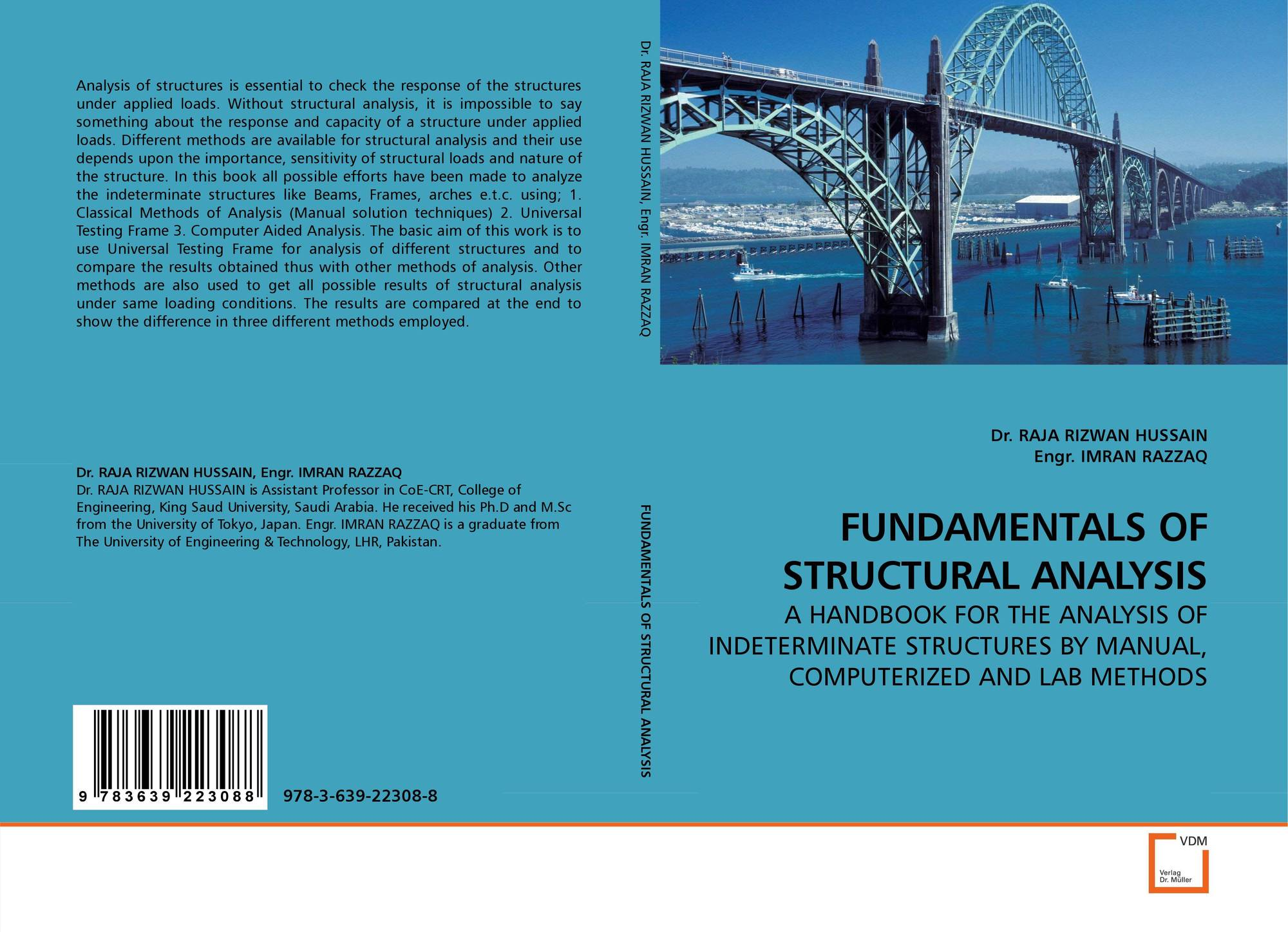 Bookcover of FUNDAMENTALS OF STRUCTURAL ANALYSIS
