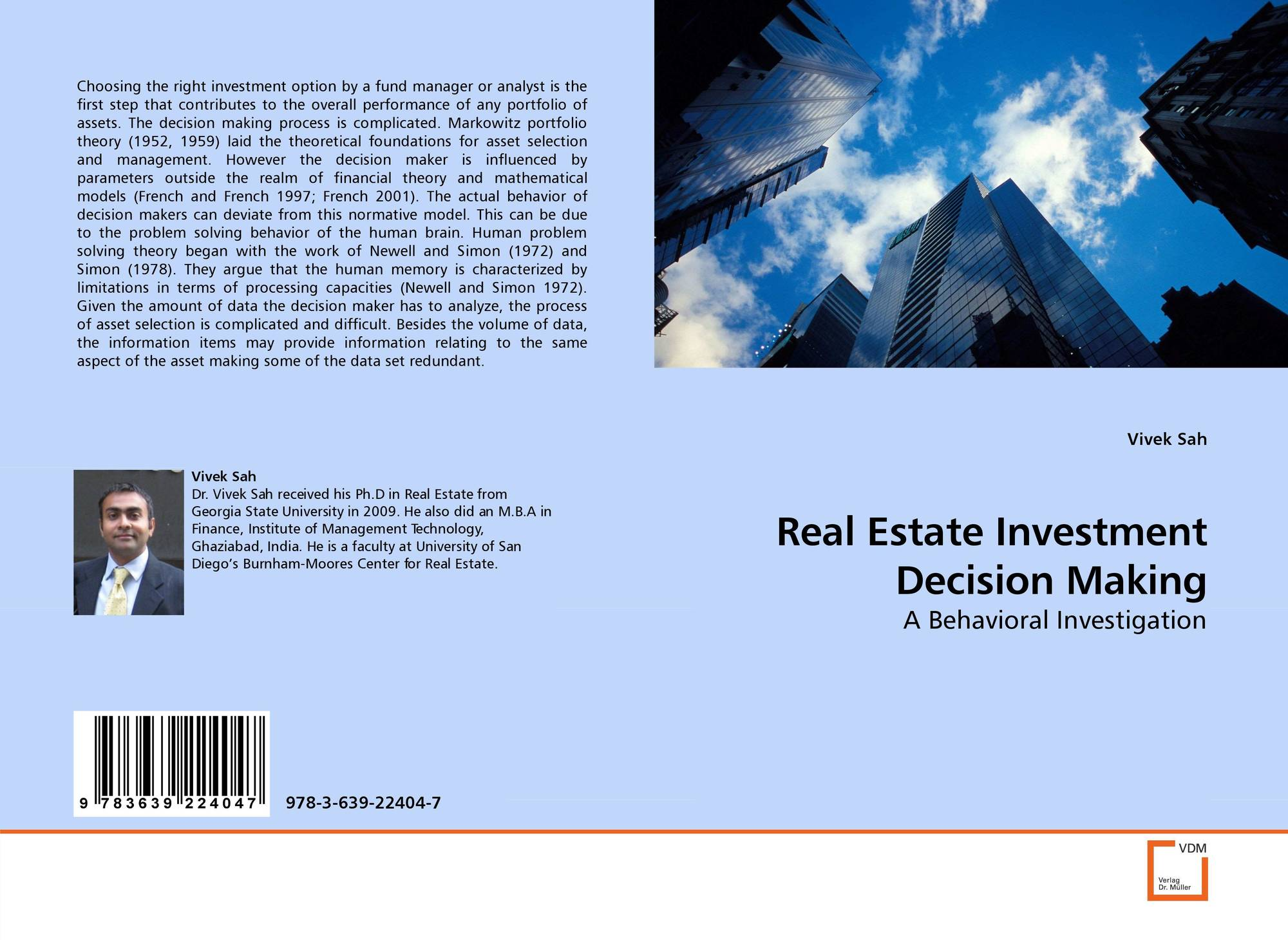 investments analysis decision making