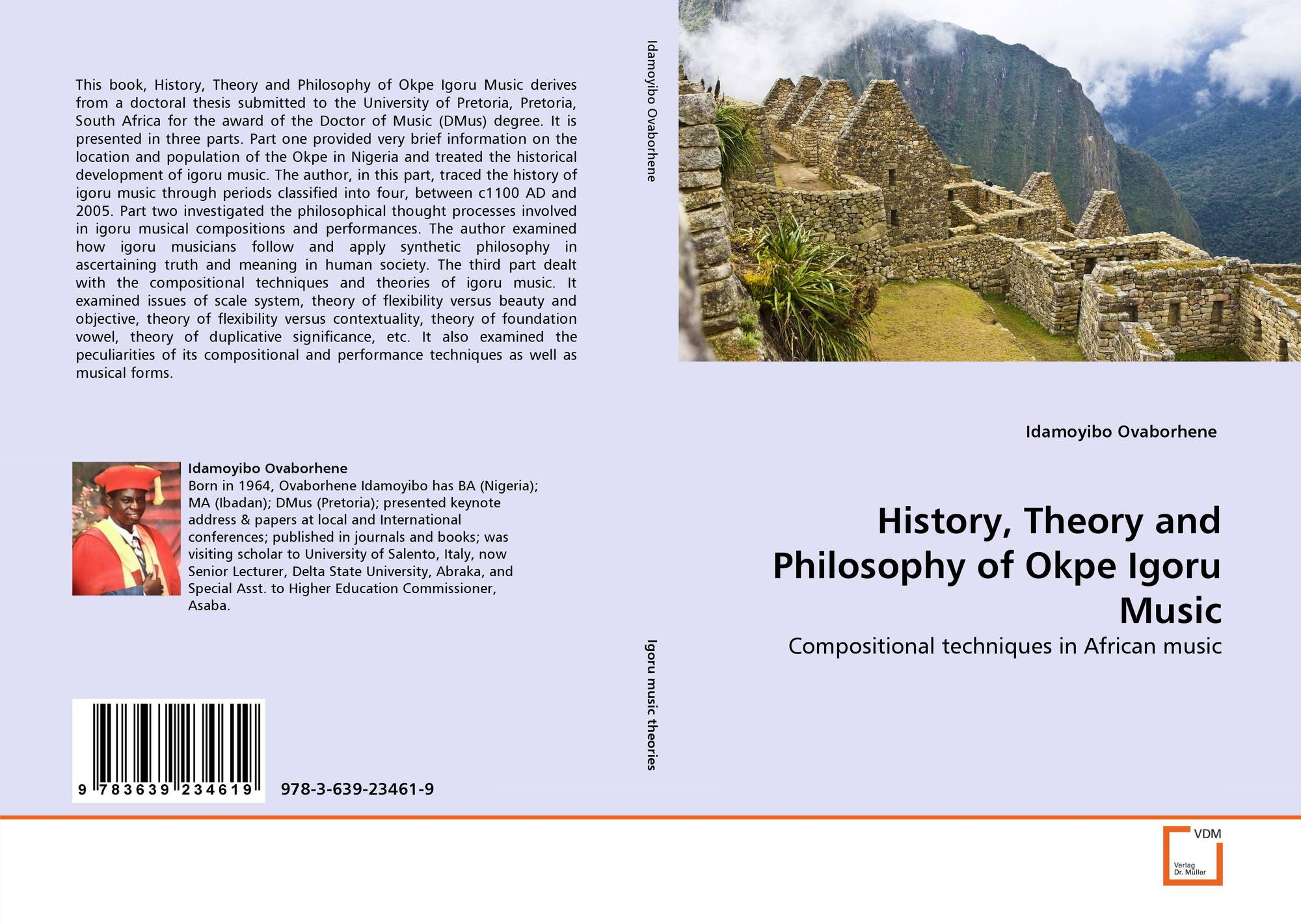 History, Theory and Philosophy of Okpe Igoru Music, 978-3-639-23461