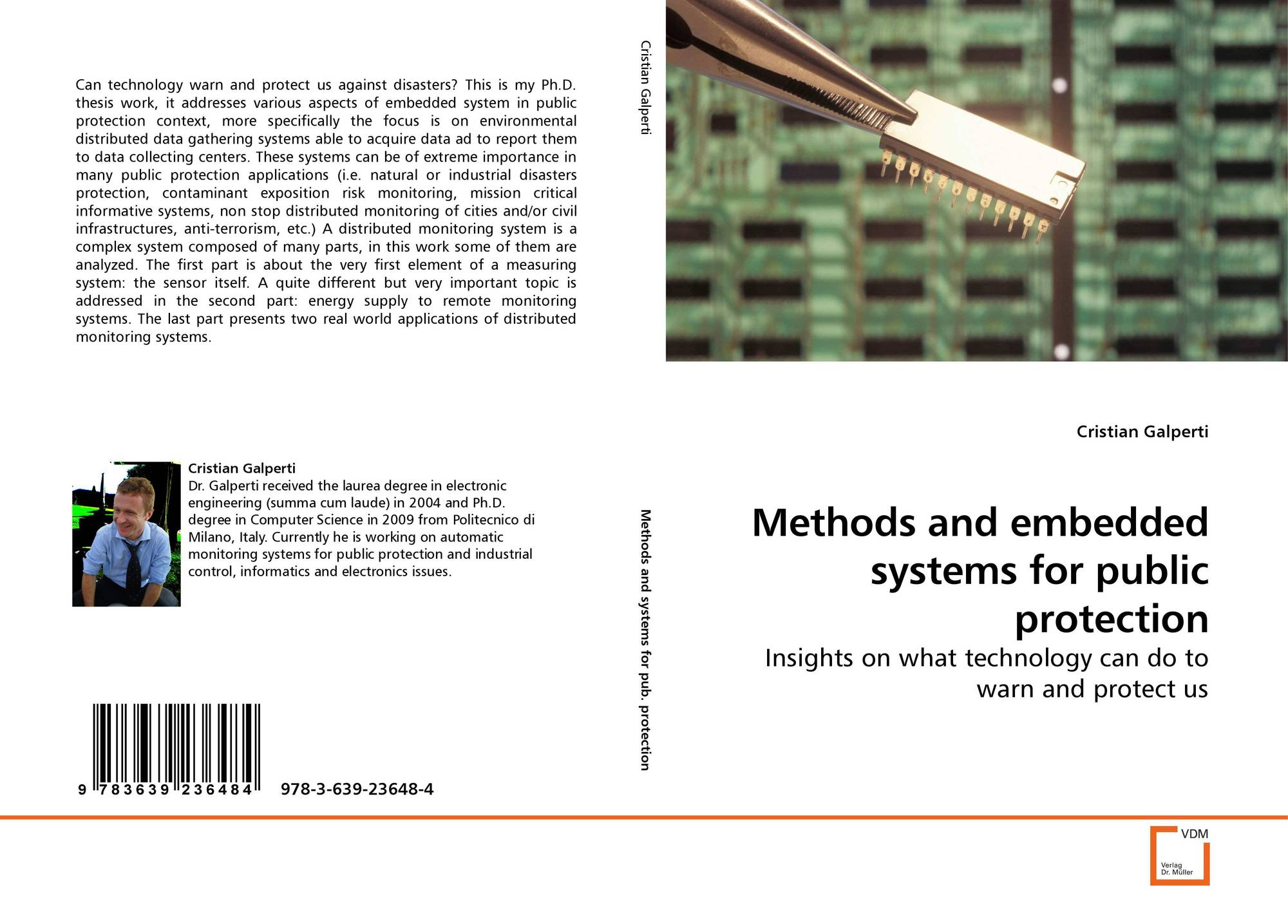Methods and embedded systems for public protection, 978-3-639-23648