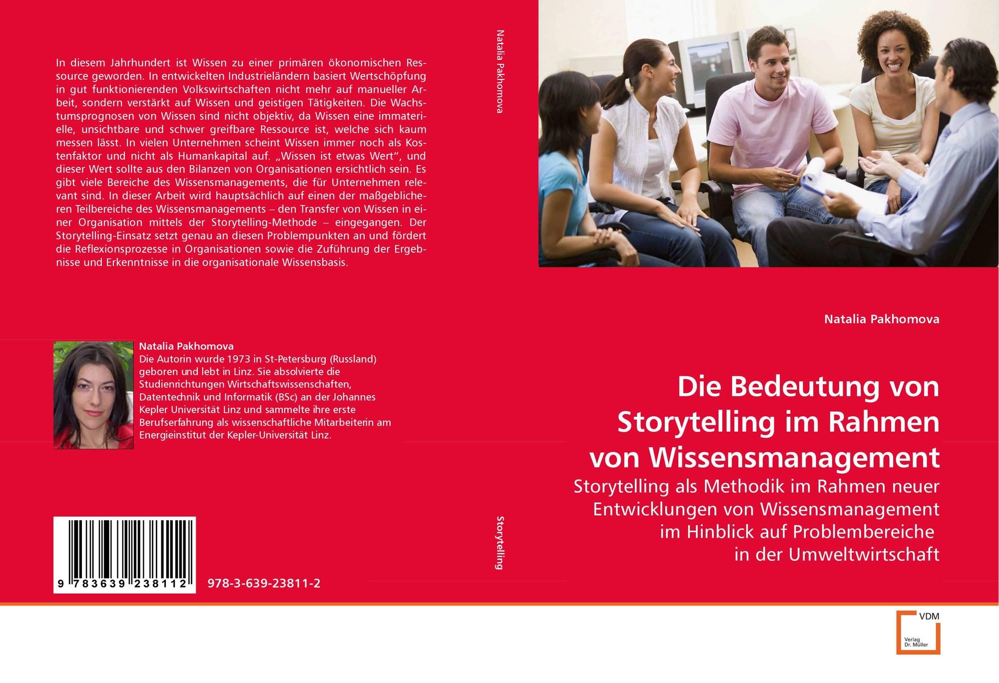 Die Bedeutung von Storytelling im Rahmen von Wissensmanagement, 978 ...