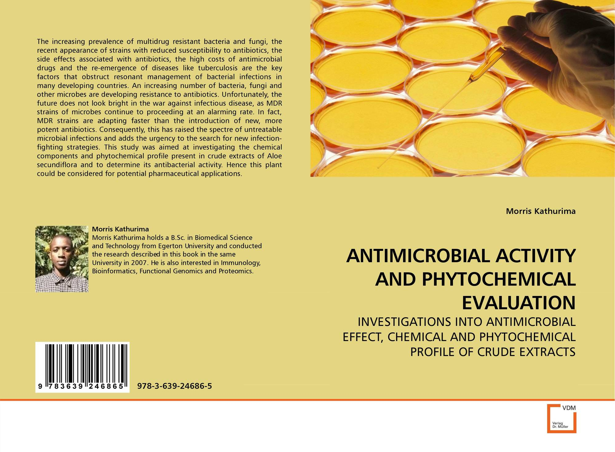 antimicrobial activity of the phytochemical constituents Plants produce a wide variety of phytochemical constituents, which are  secondary metabolites and are used either directly or indirectly in the  pharmaceutical.