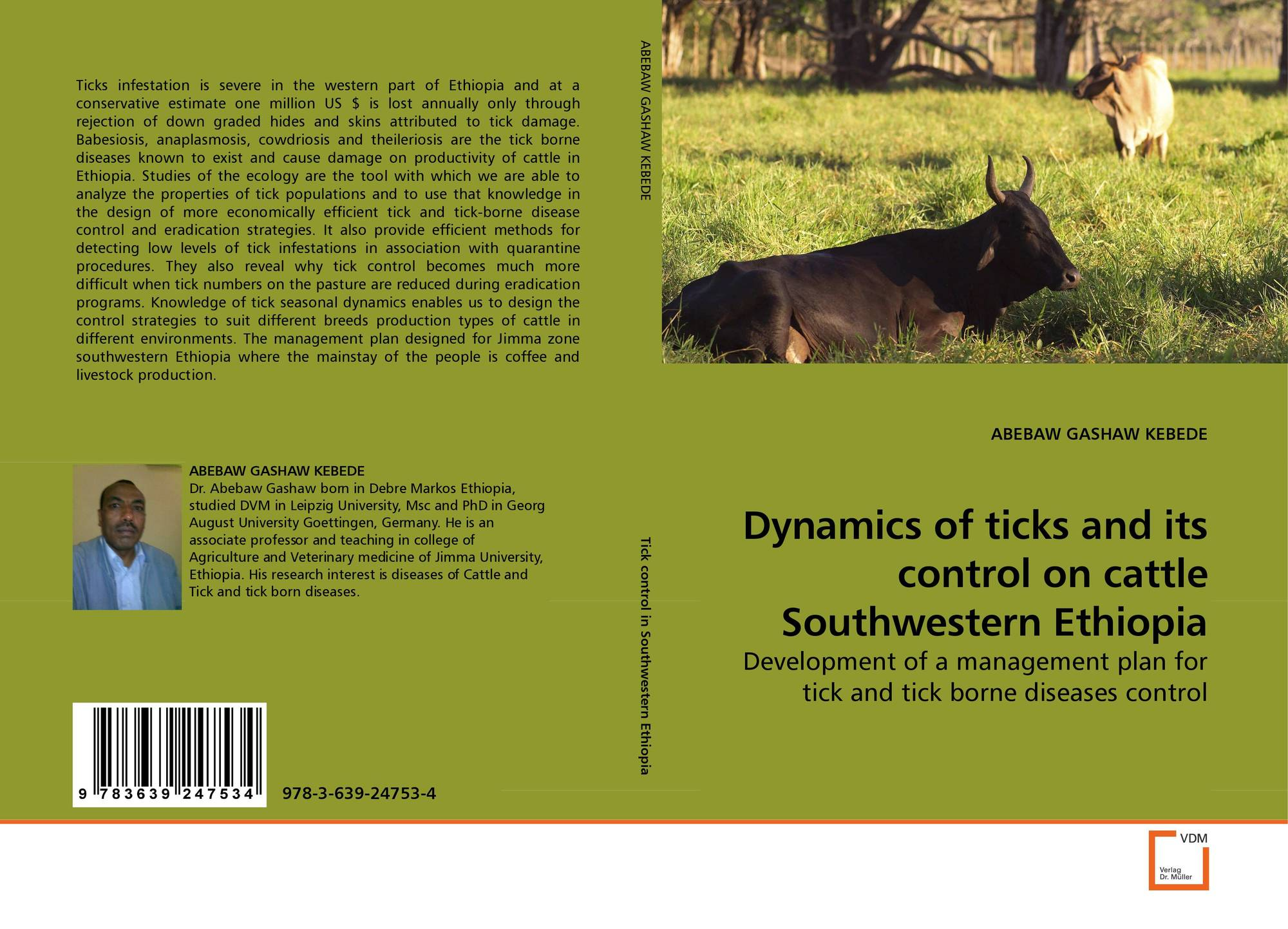 Dynamics Of Ticks And Its Control On Cattle Southwestern