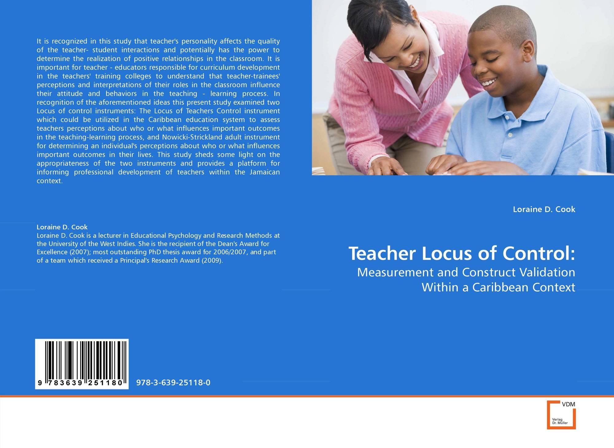 internal locus of control assessment