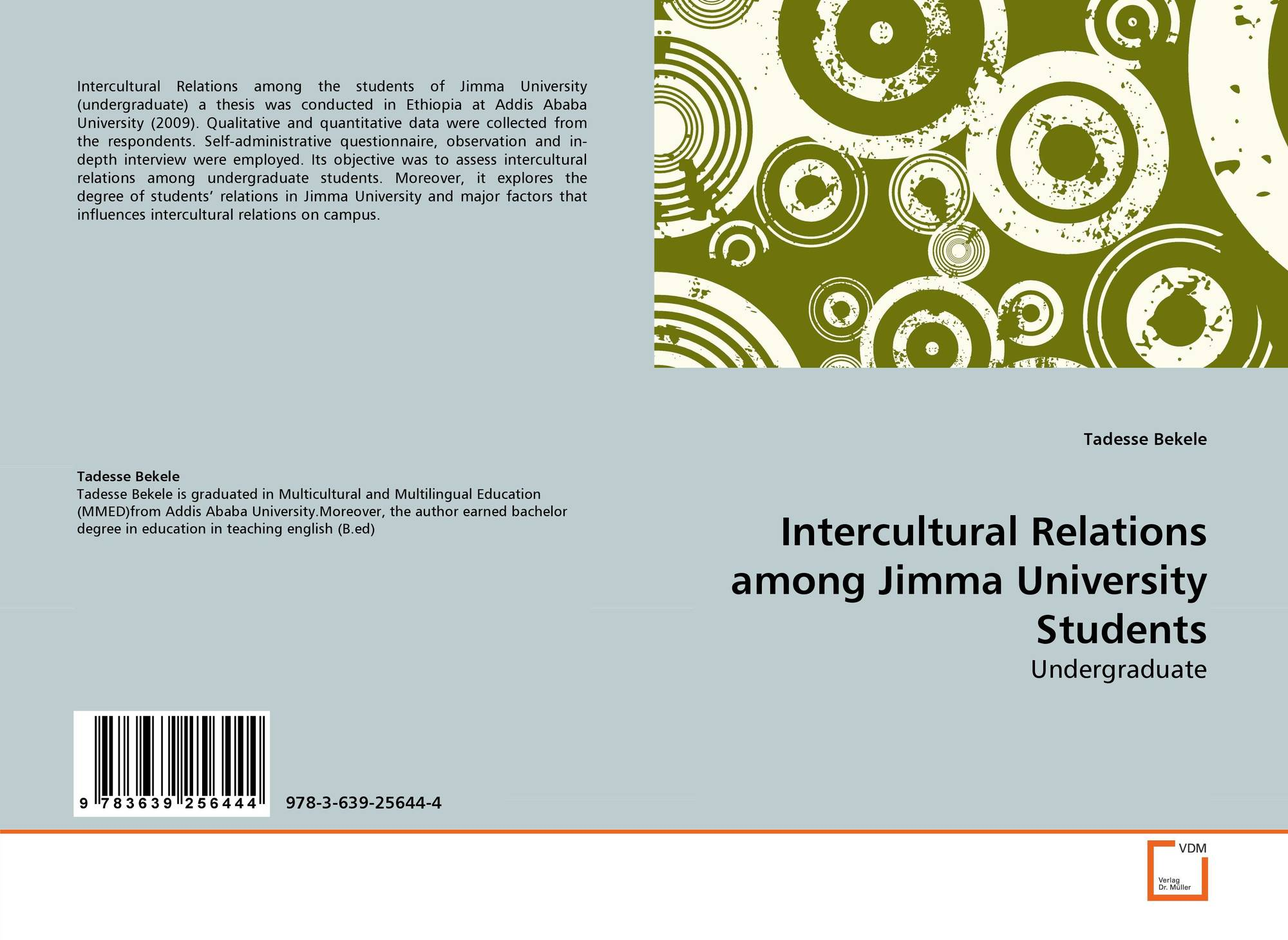 Intercultural Relations among Jimma University Students, 978-3-639