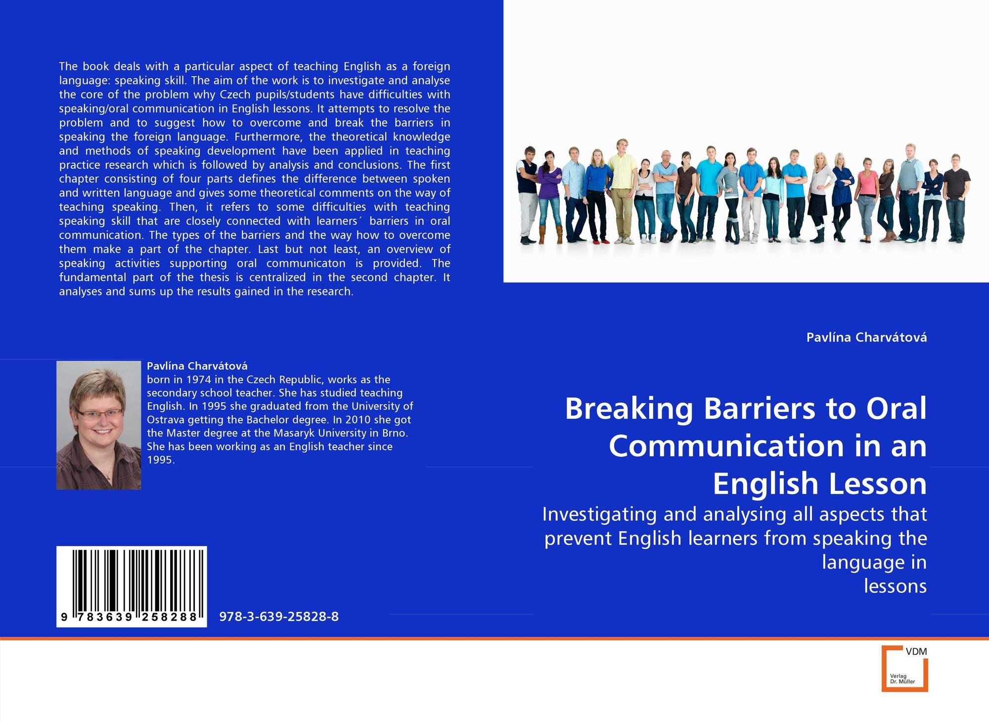 barriers of speaking