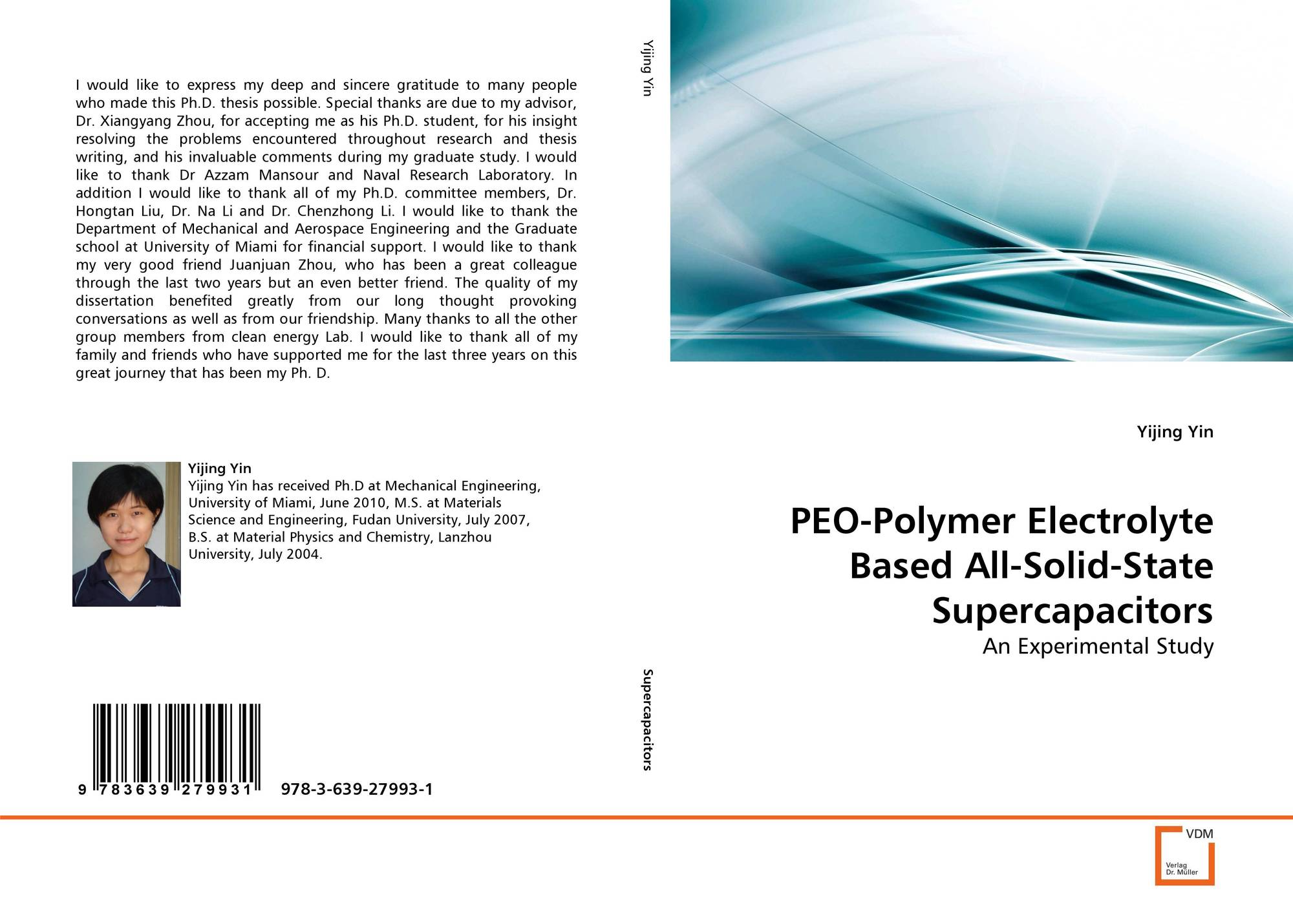 PEO-Polymer Electrolyte Based All-Solid-State