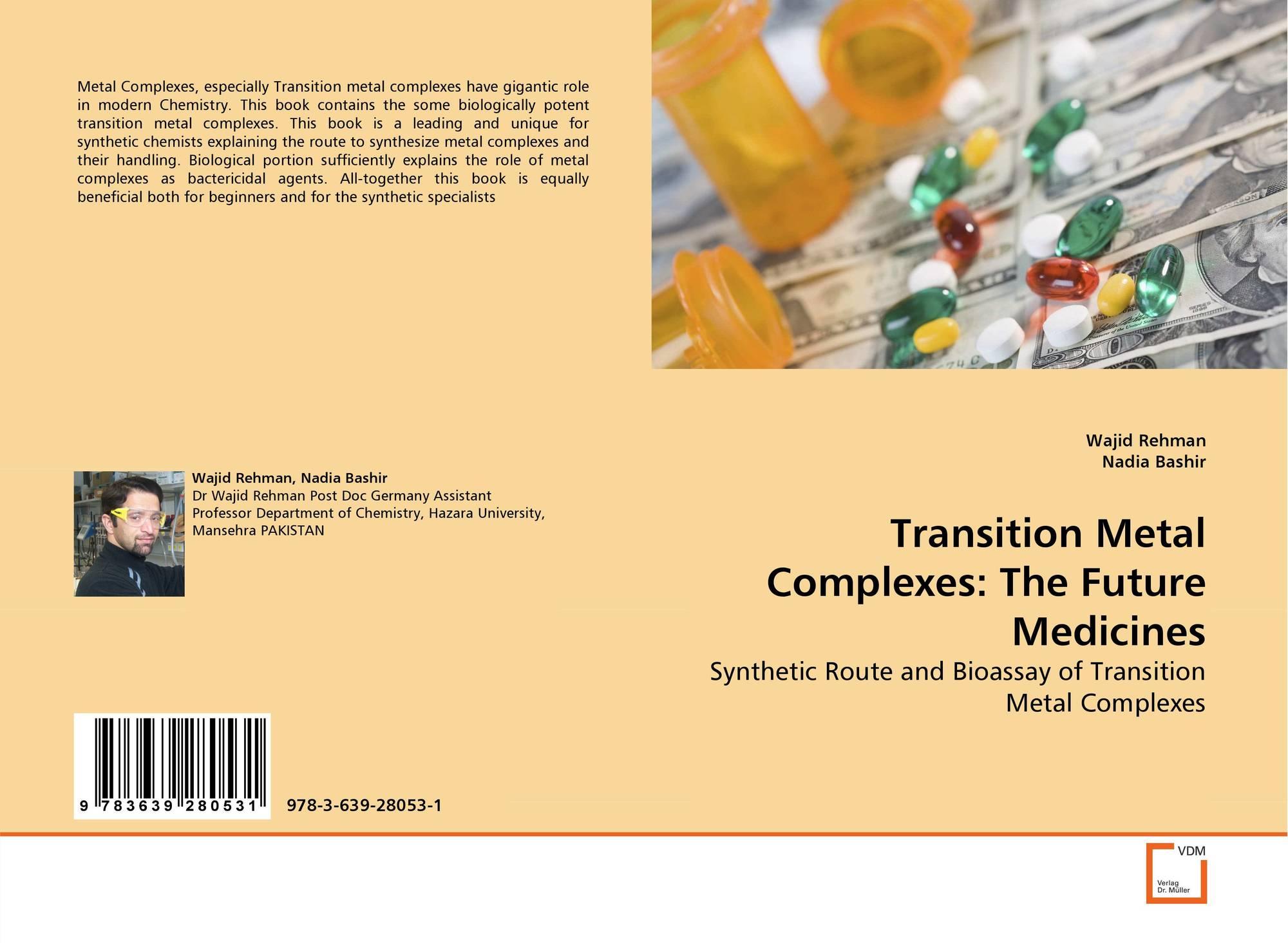 transition metal complexes in medicine