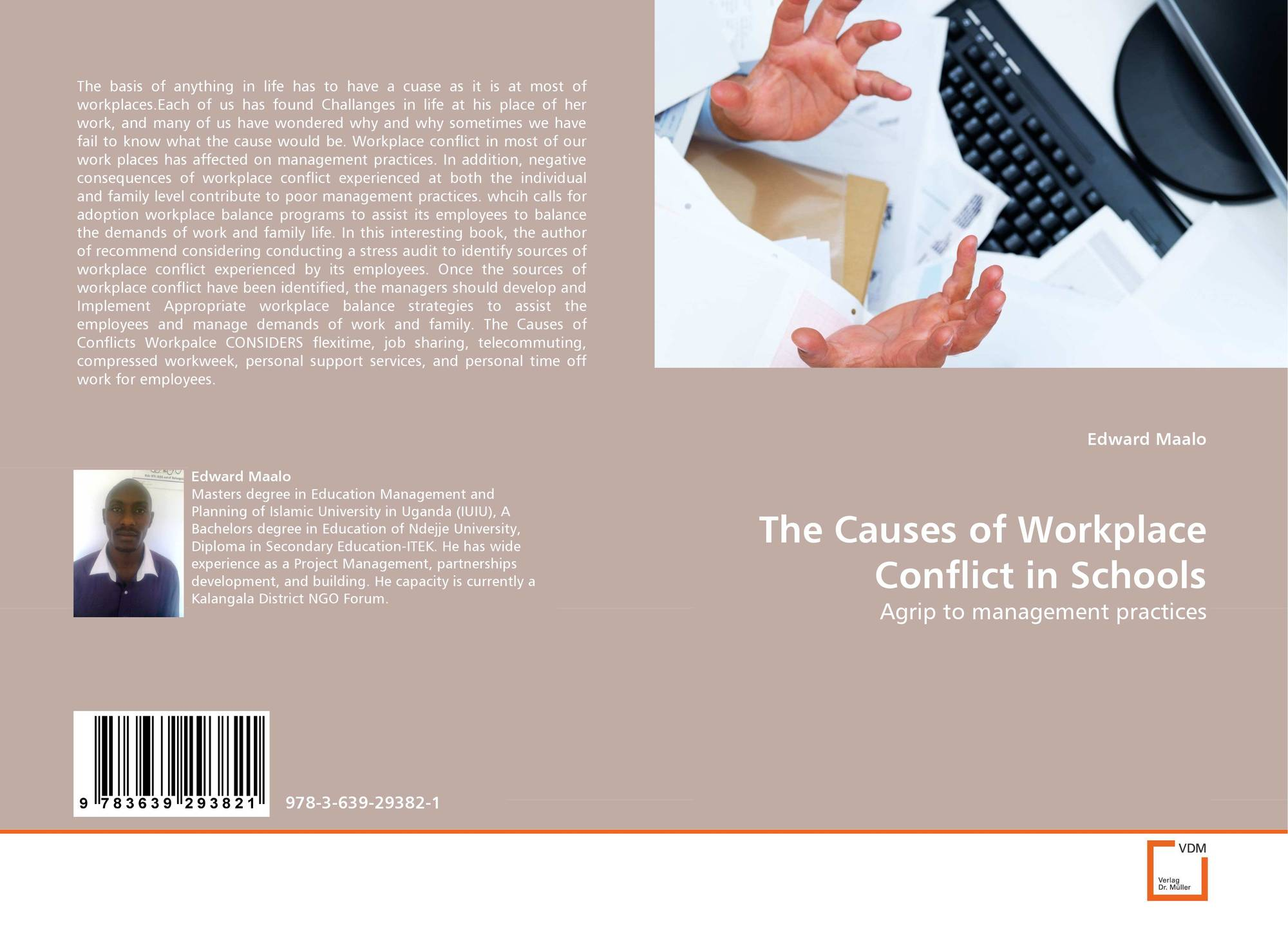 causes and impacts of workplace conflict The causes of conflict fall into three distinct categories accordingly, these causes can be restructured and placed into one of these categories these categories deal with communicational, behavioral and structural aspects managers must understand the type of conflict situations so that they spend less.