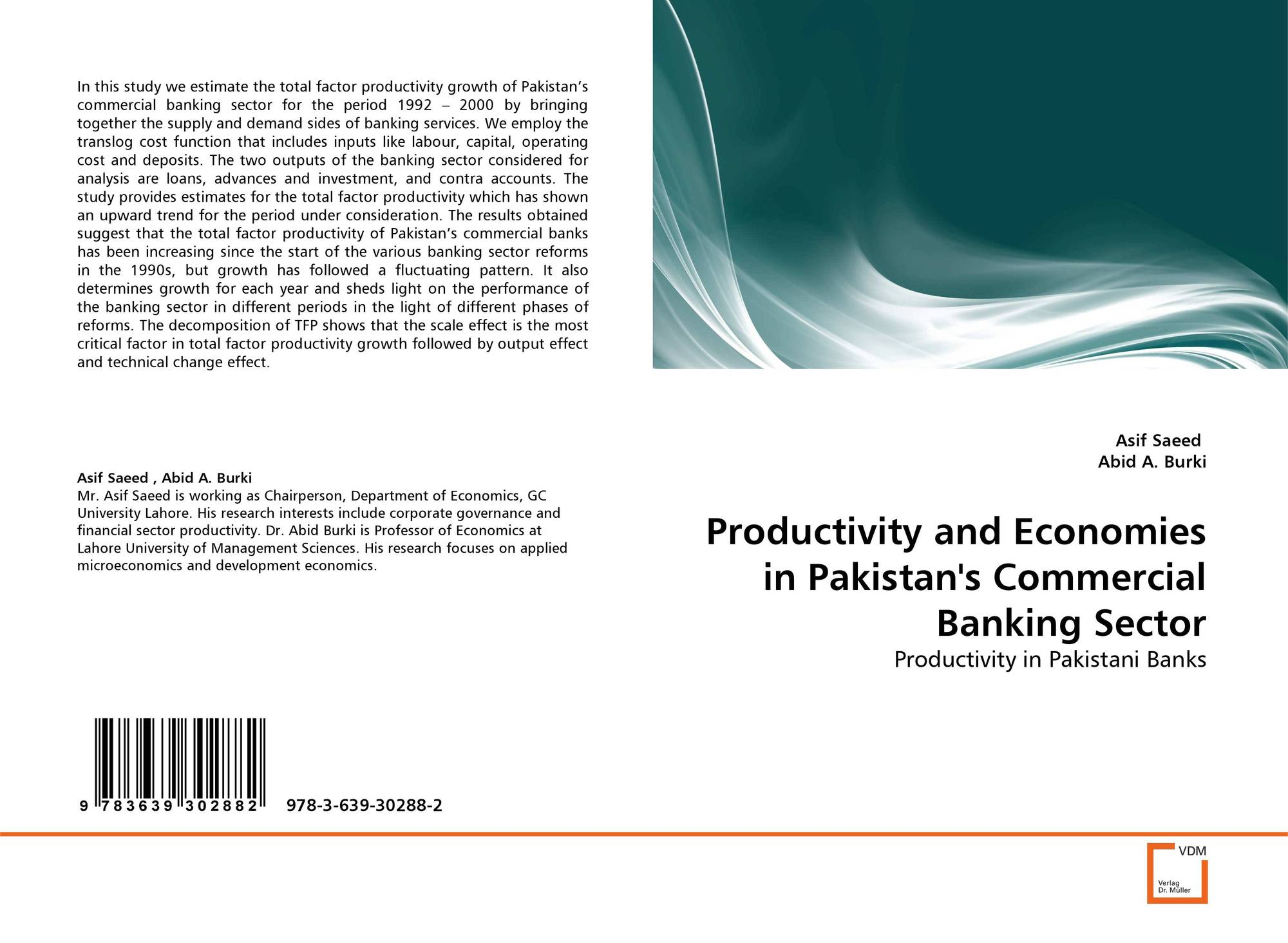Productivity and Economies in Pakistan's Commercial Banking