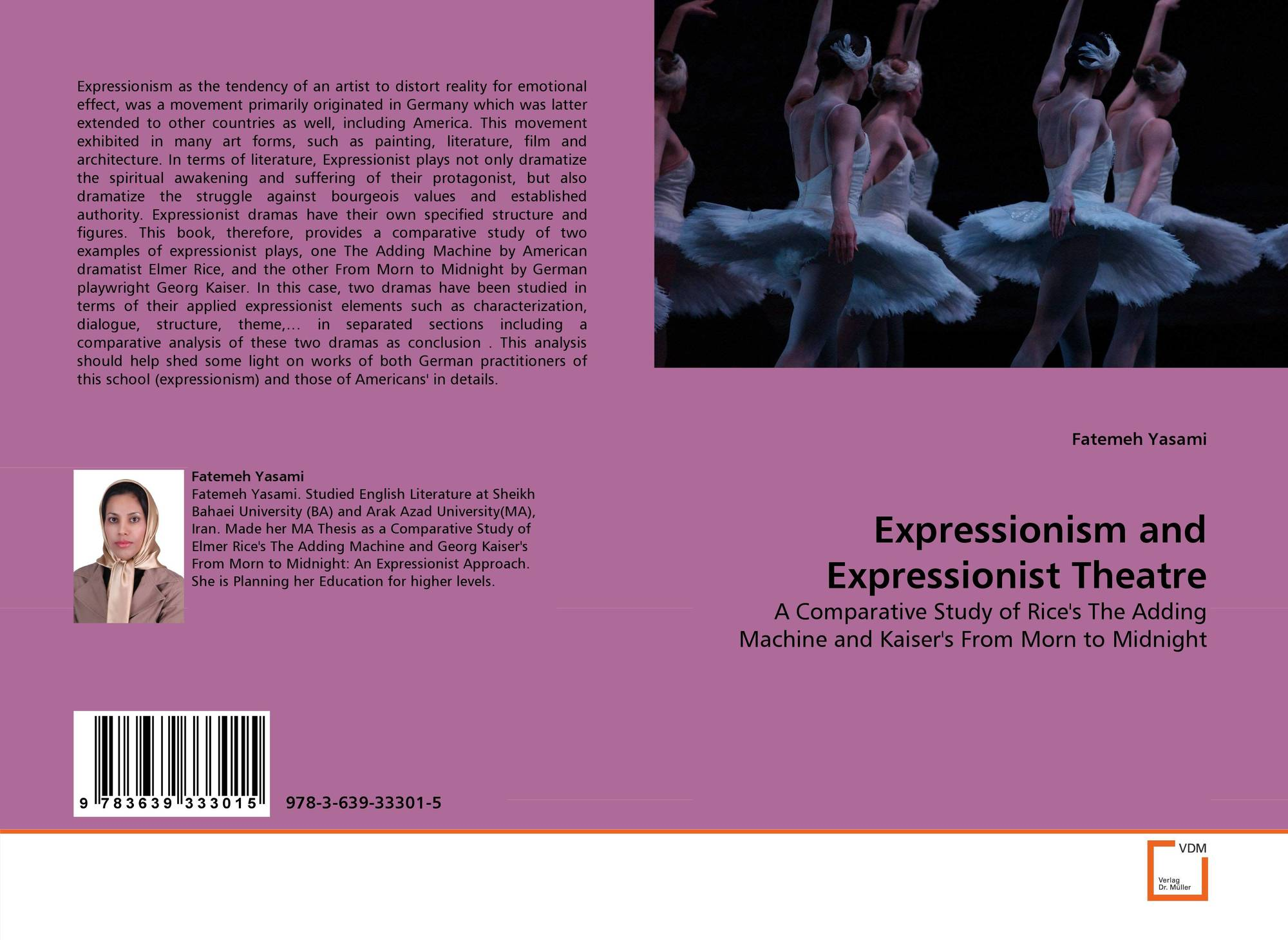 an analysis of expressionist theatre The term expressionism was originally borrowed from visual art and literature artists created vivid pictures expressionist music often features.