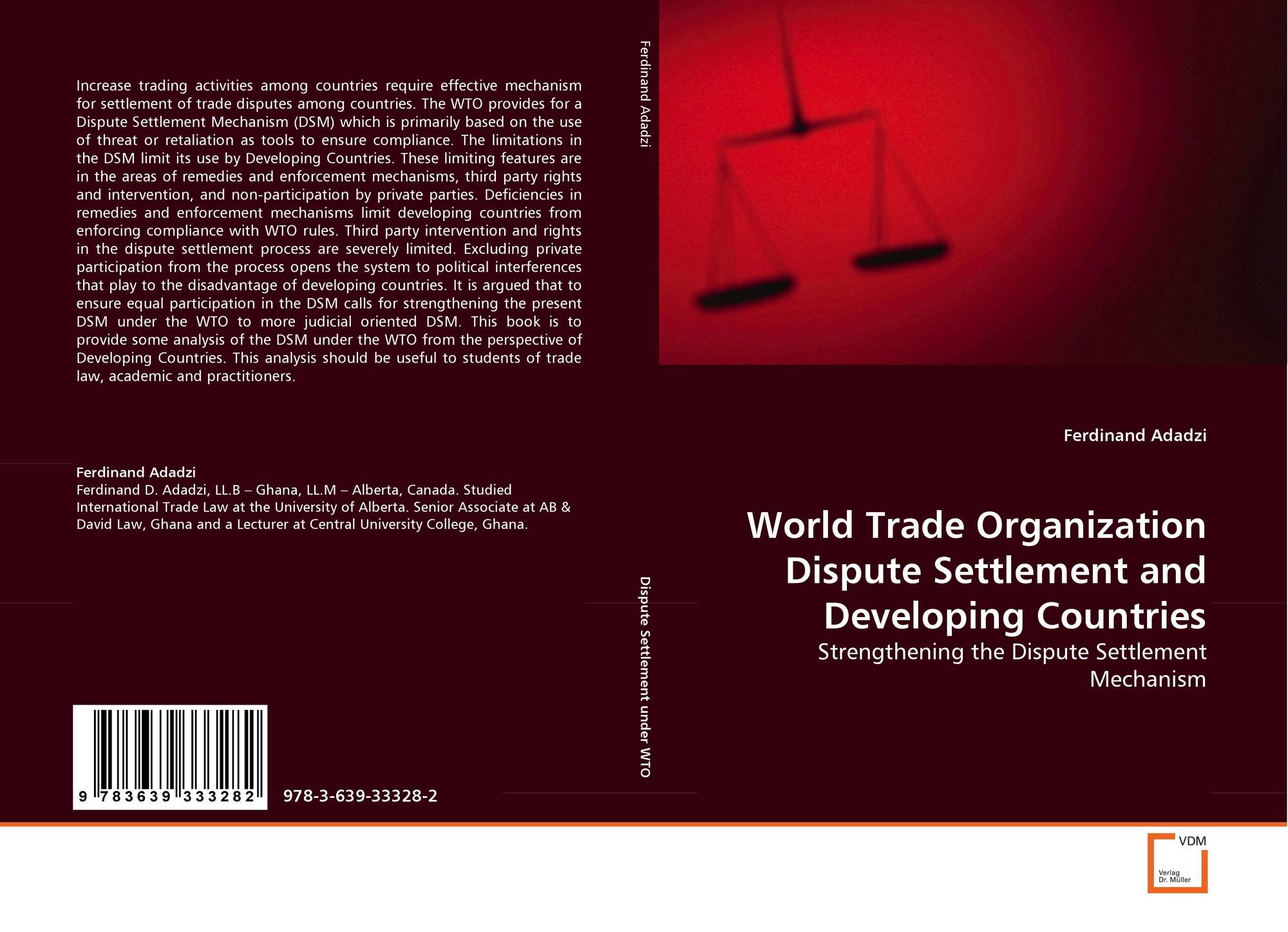 the wto and antidumping in developing [5]the world trade organization (wto) and its predecessor, the general agreement on originally antidumping was designed as a weapon against predatory and powerful companies anti- dumping measures have often been used against efficient enterprises, especially from developing countries.