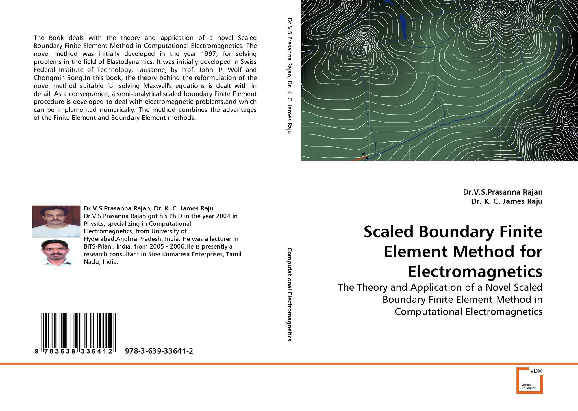 Bookcover of scaled boundary finite element method for electromagnetics