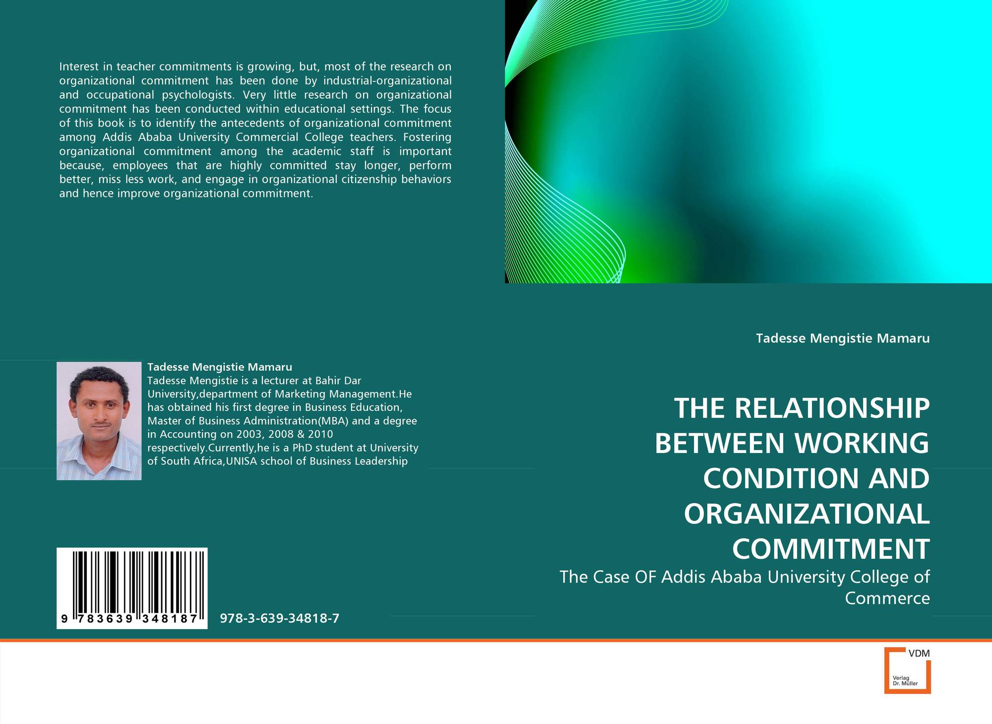 the relationship between organizational commitment and Abstract organizational commitment (oc) is one of the most fundamental concepts that has been explored in relation to workforce motivation and productivity significant relationship between job performance and organizational commitment.