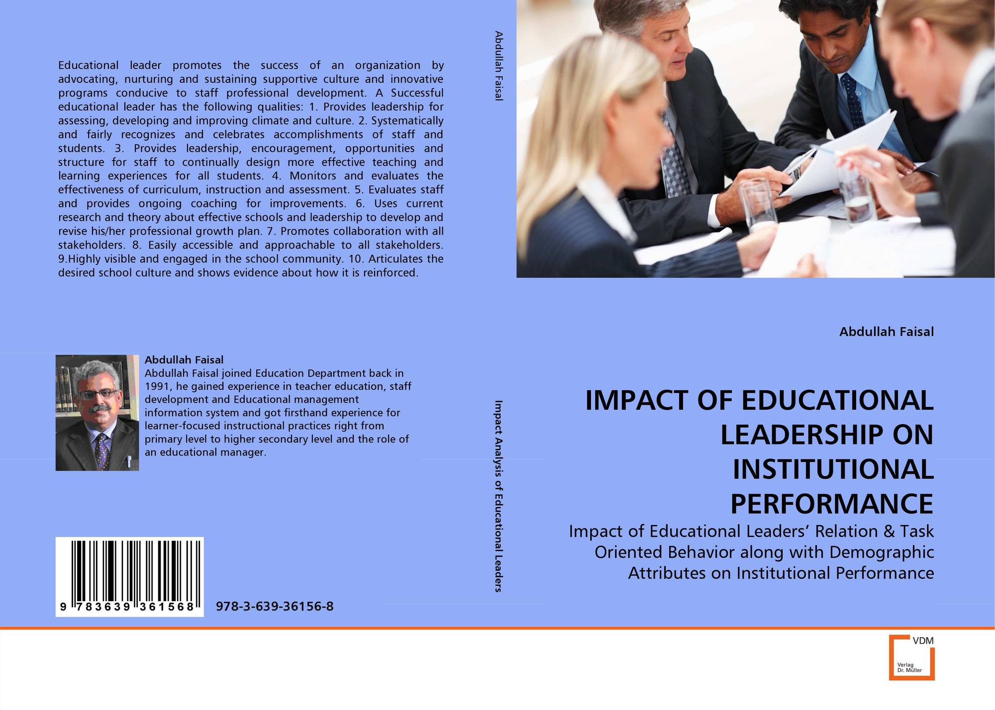 education leadership and its impact on education The biggest challenge in education today is its myopia and disregard for real-world problem-solving as concretized in our collective and sometimes willful lack of imagination in reforming education outside the tautological feedback loop of standardized testing.