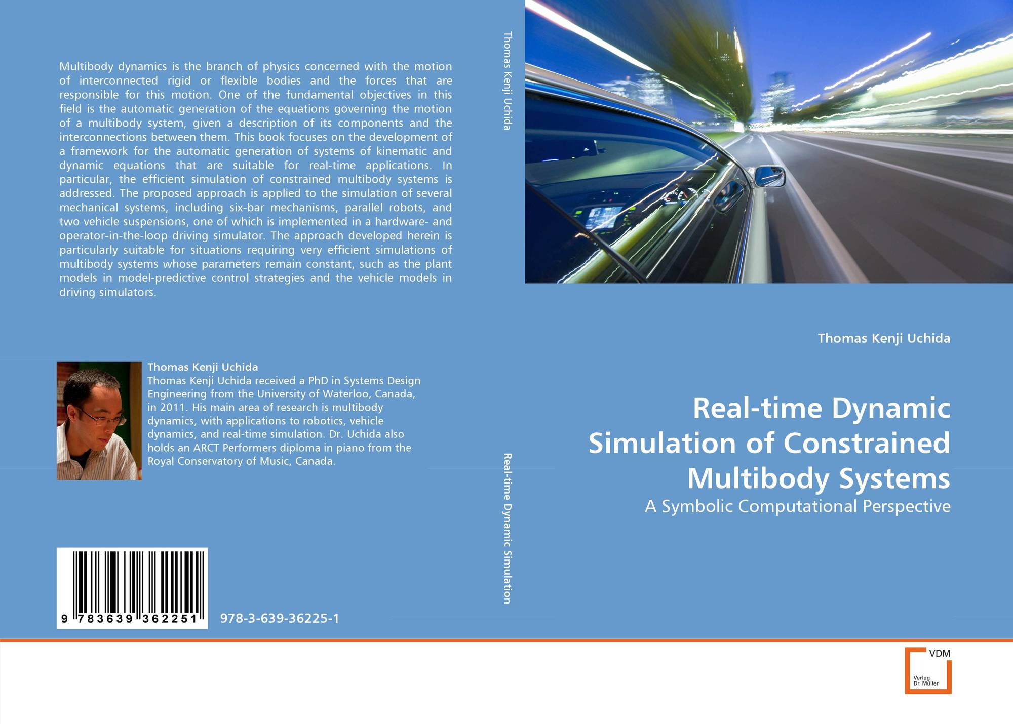 Real-time Dynamic Simulation of Constrained Multibody Systems, 978-3