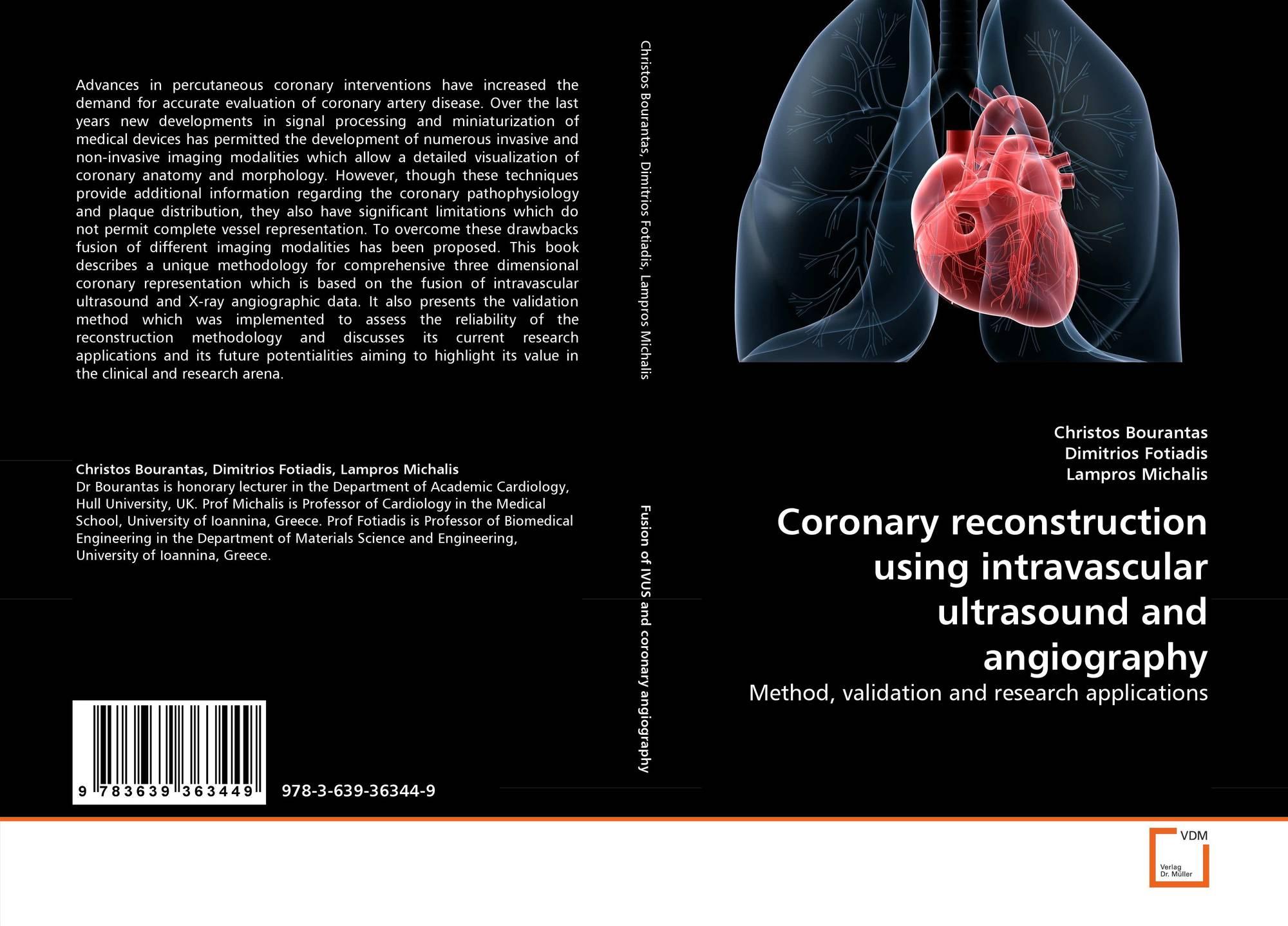 Coronary reconstruction using intravascular ultrasound and