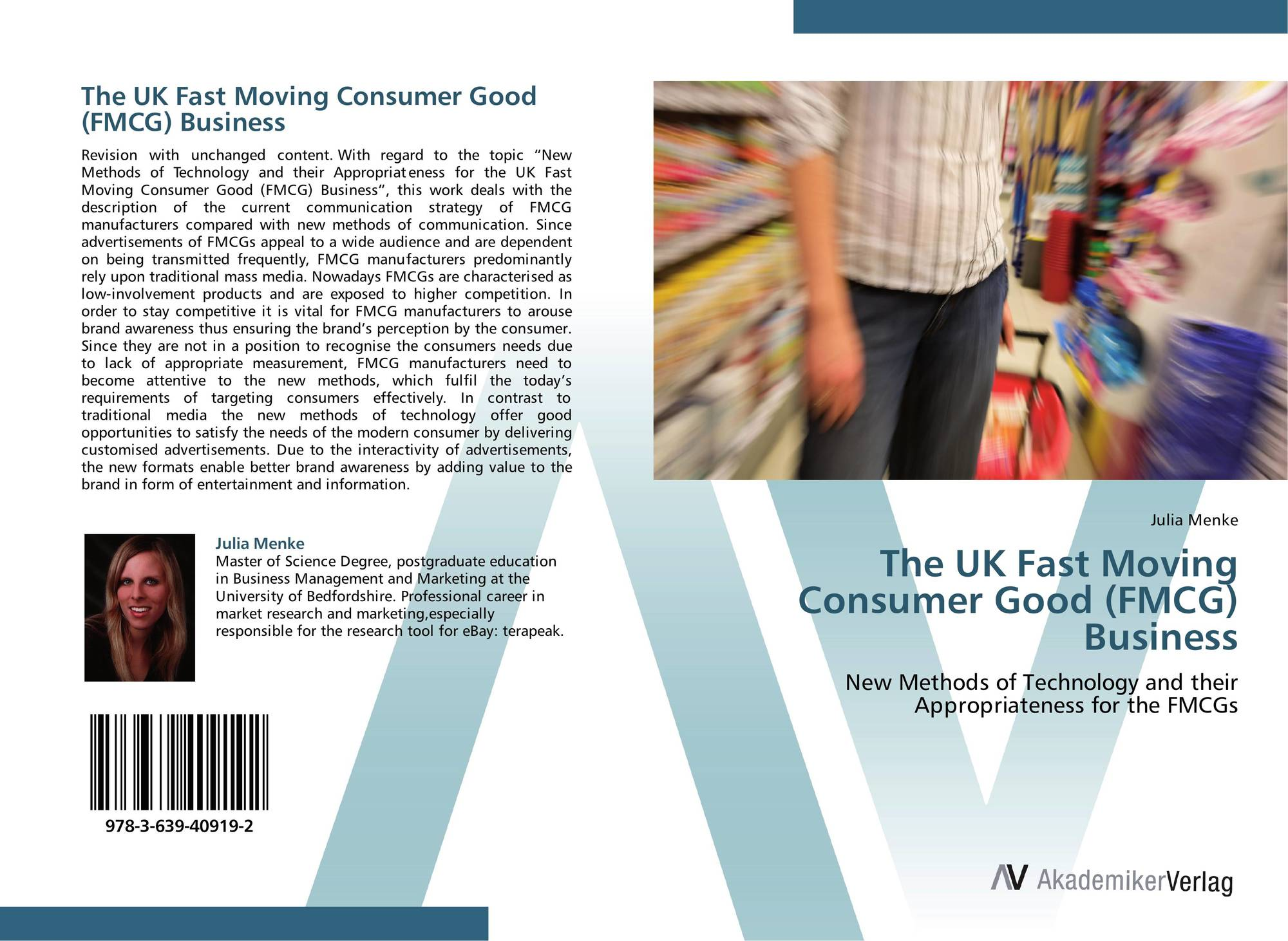 role of branding in marketing fmcg products uk marketing essay These subject areas include relationship marketing, branding, direct marketing, international marketing, consumer psychology, online marketing, mobile marketing • an examination of the relationship between perceived risk and brand equity: a comparison of supermarket retailers in uk .