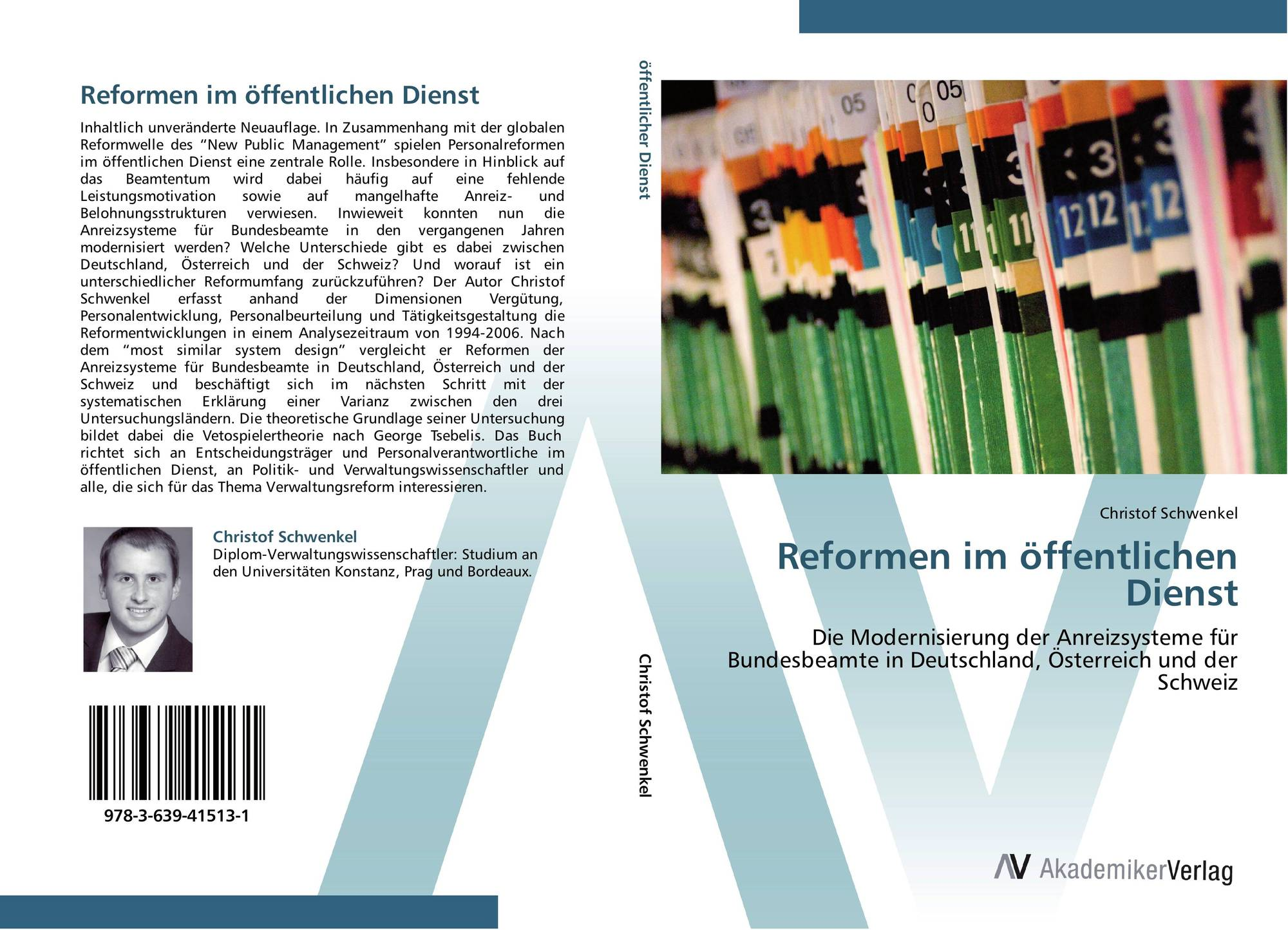 reformen im ffentlichen dienst 978 3 639 41513 1. Black Bedroom Furniture Sets. Home Design Ideas