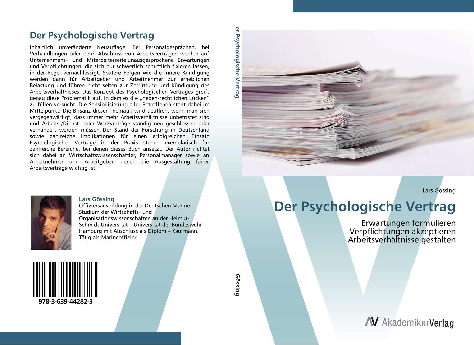 Search Results For Psychologischer Vertrag