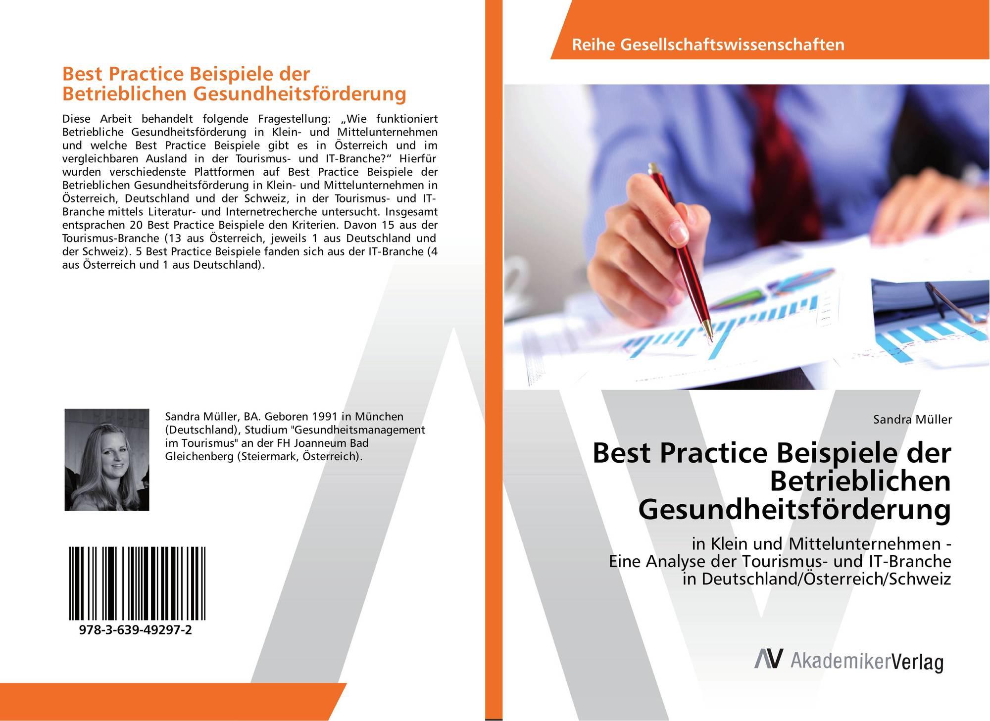 beispiele der betrieblichen gesundheitsfrderung 9783639492972 - Betriebliche Gesundheitsforderung Beispiele