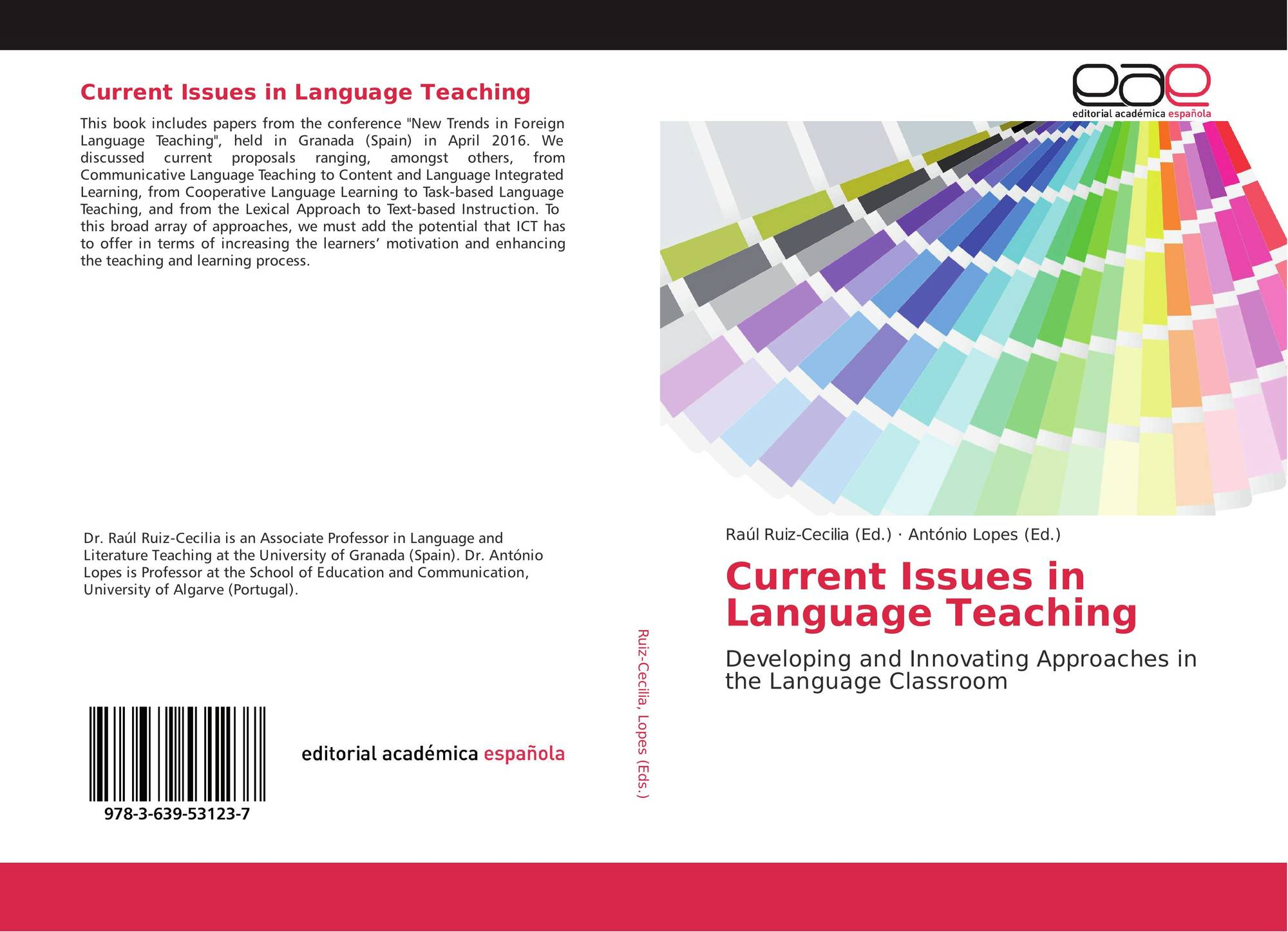 Current Issues in Language Teaching, 978-3-639-53123-7