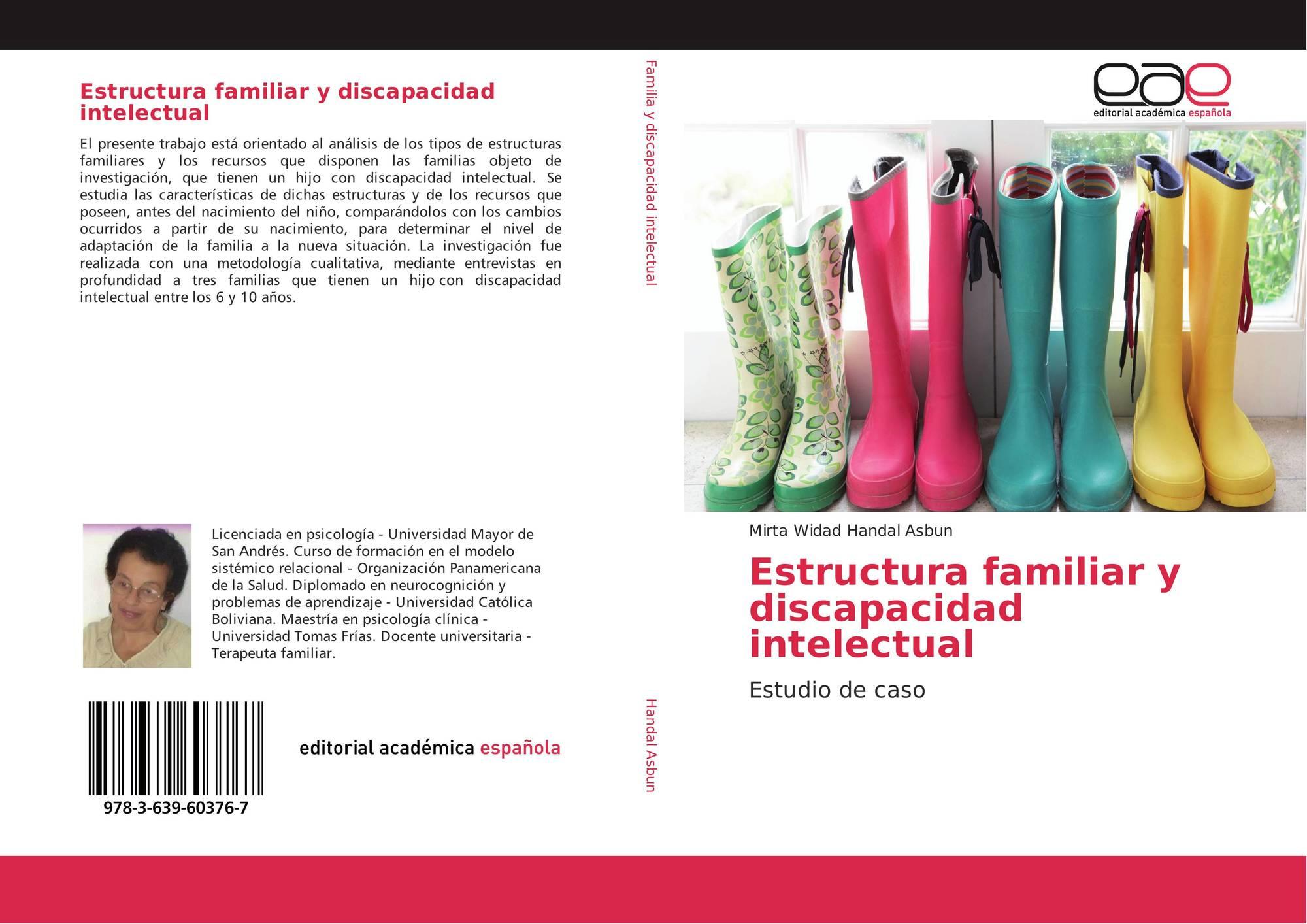 Estructura Familiar Y Discapacidad Intelectual 978 3 639