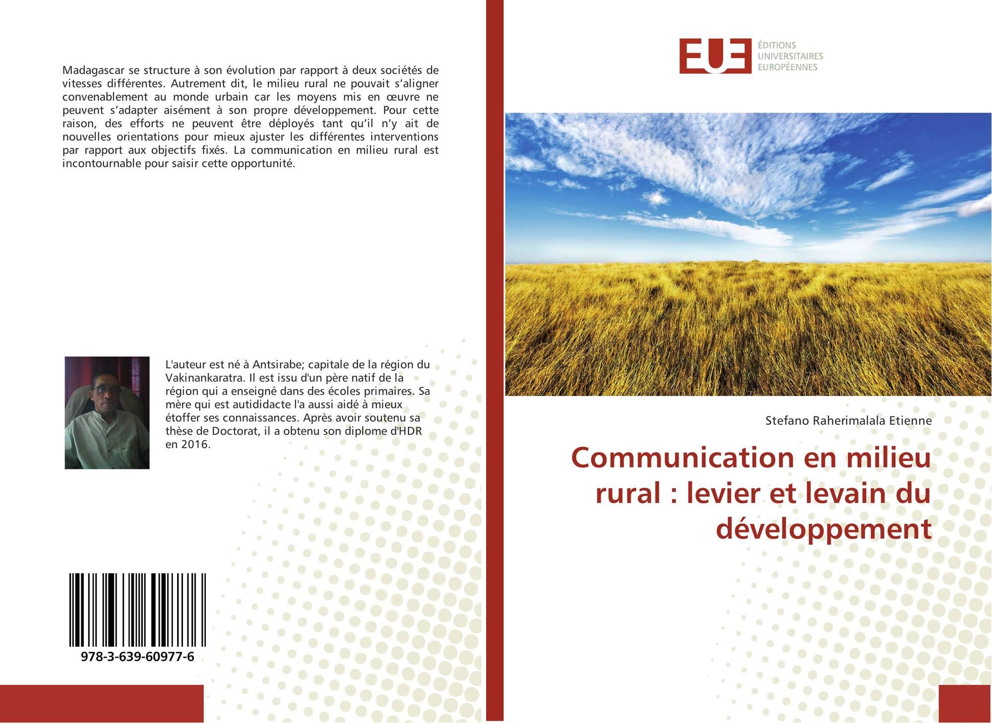 Communication en milieu rural levier et levain du for En milieu rural