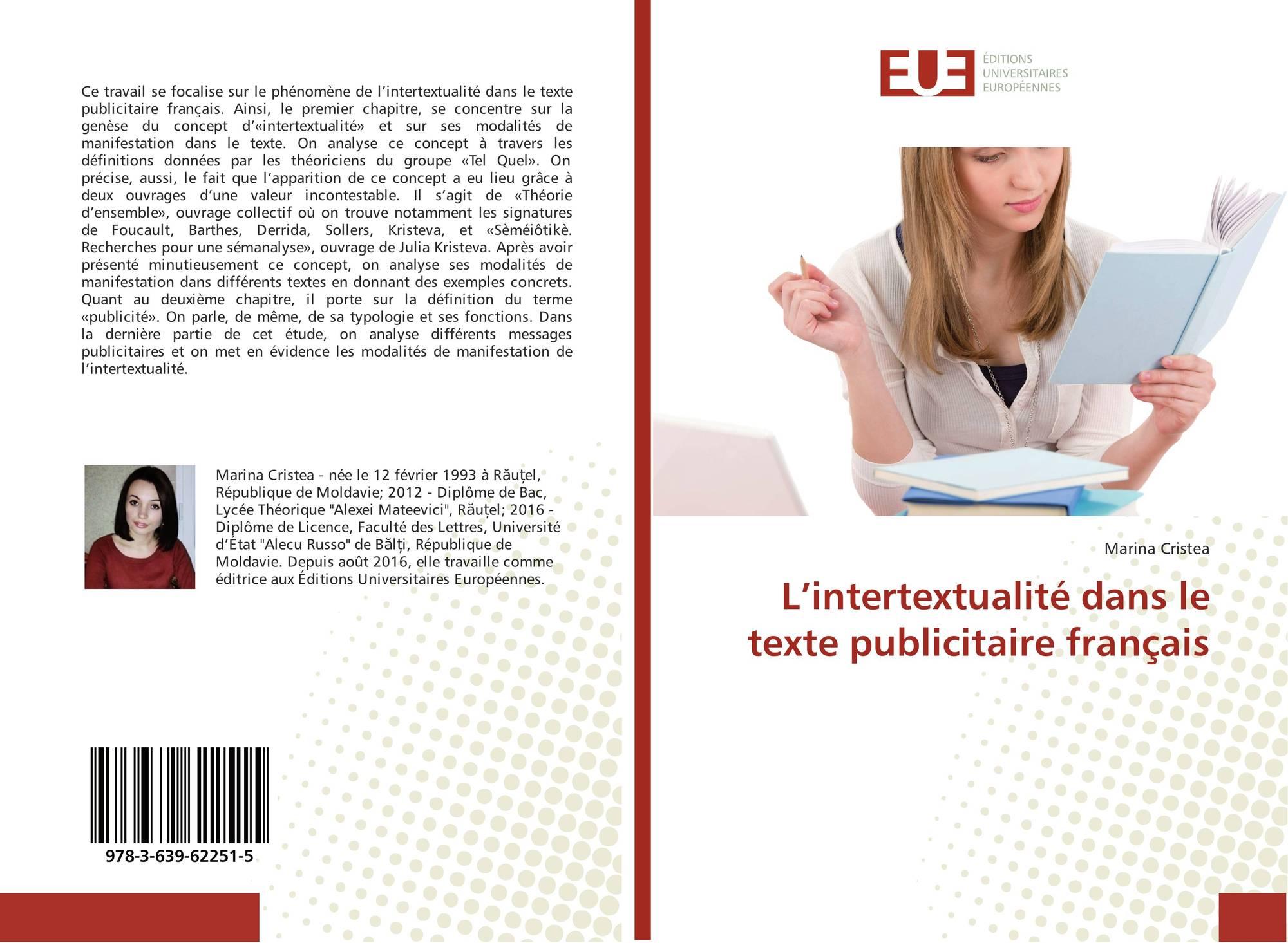 L'intertextualité dans le texte publicitaire français, 978 ...