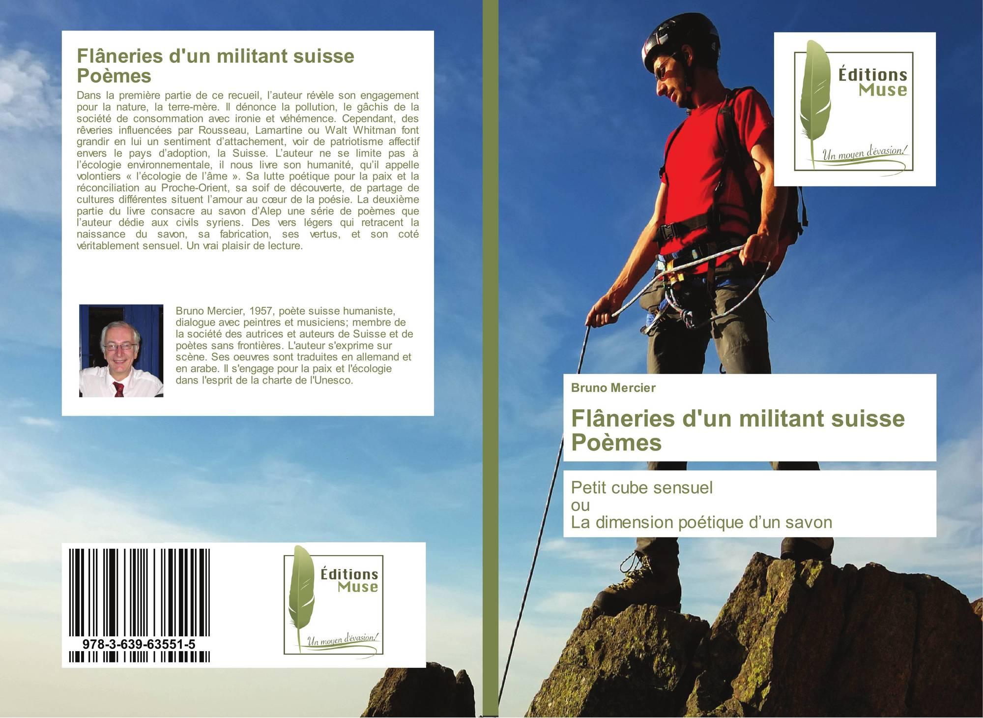 Flâneries Dun Militant Suisse Poèmes 978 3 639 63551 5