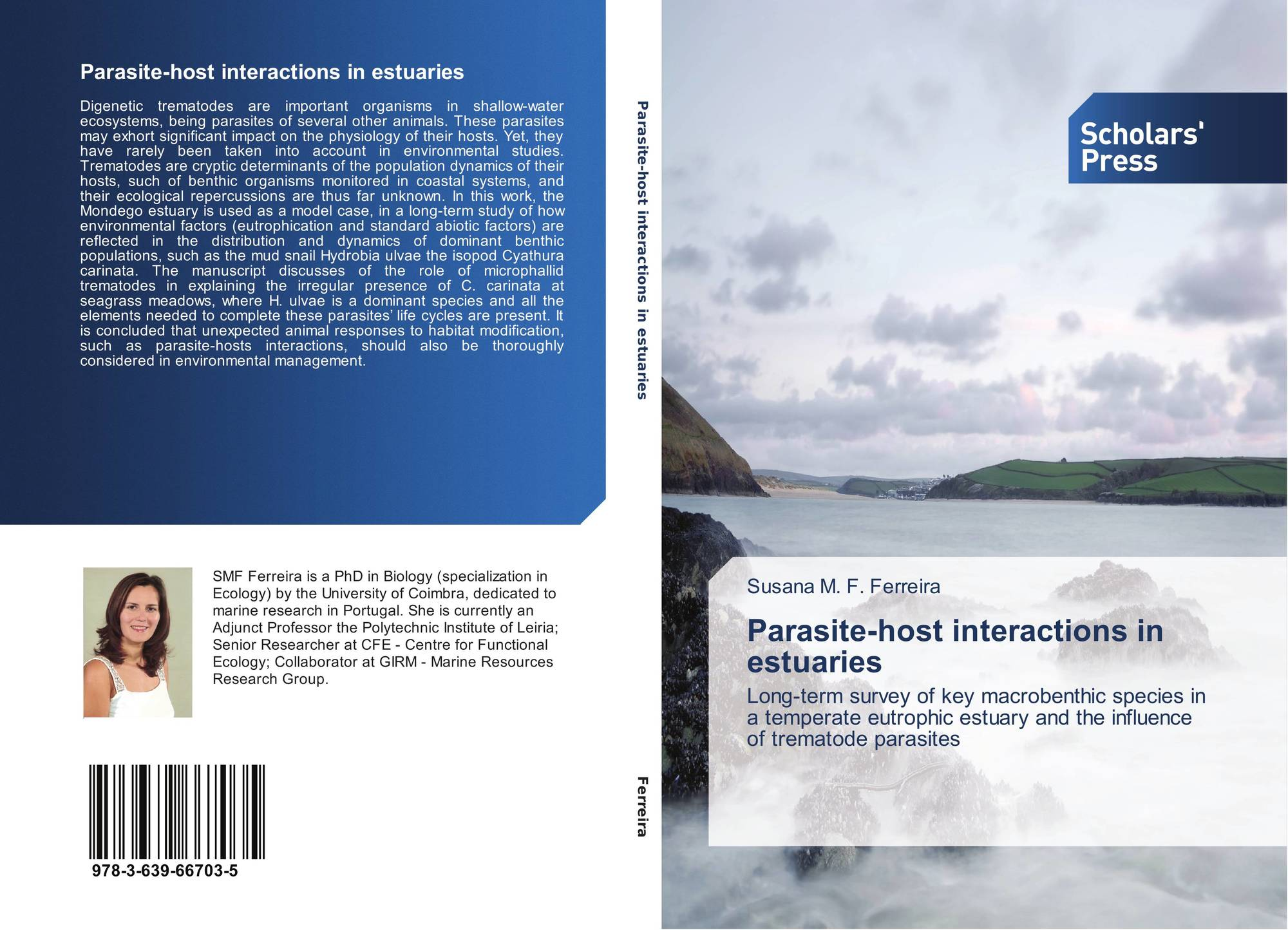 Bookcover of Parasite-host interactions in estuaries. 9783639667035