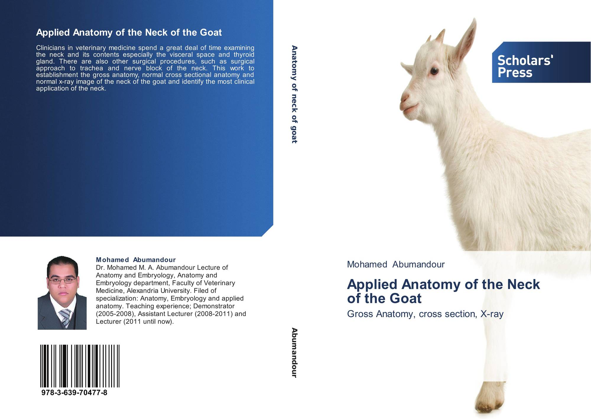 Applied Anatomy of the Neck of the Goat, 978-3-639-70477-8 ...