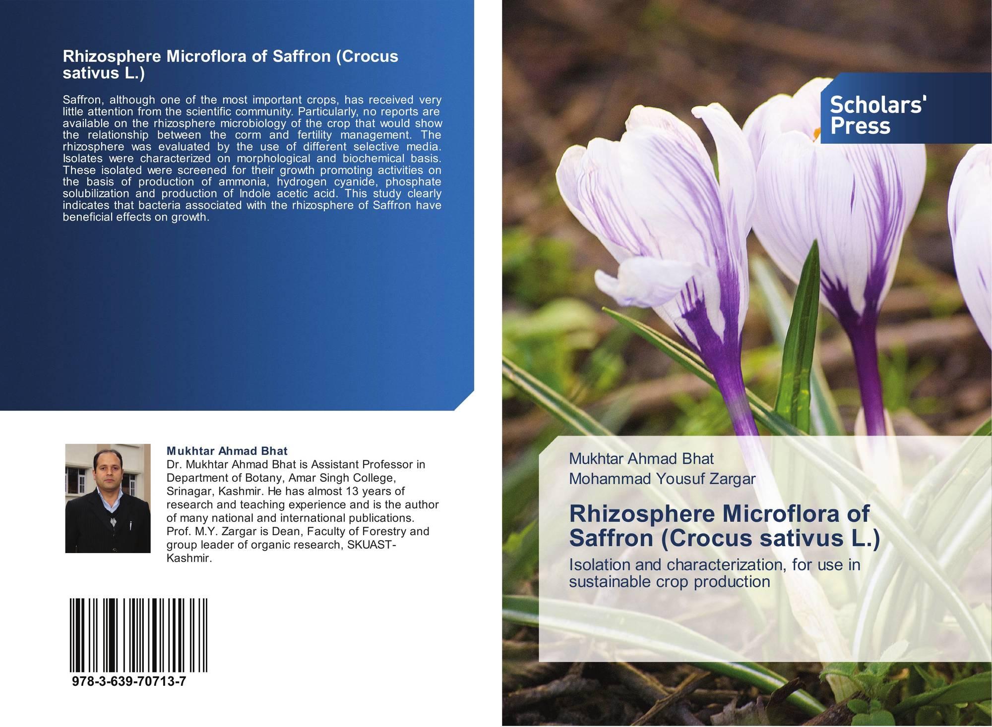 Rhizosphere Microflora of Saffron (Crocus sativus L ), 978-3-639