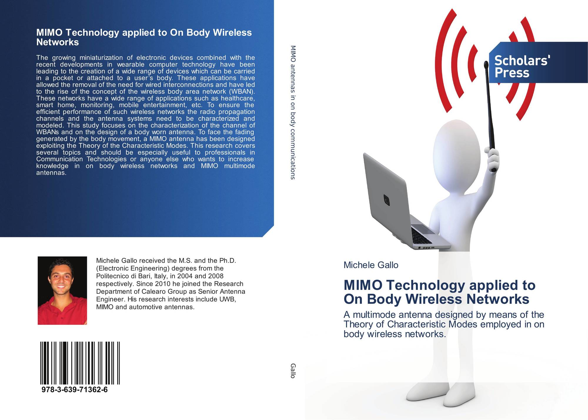 Mimo Technology Applied To On Body Wireless Networks 978 3 639 Wiring Diagram 9783639713626