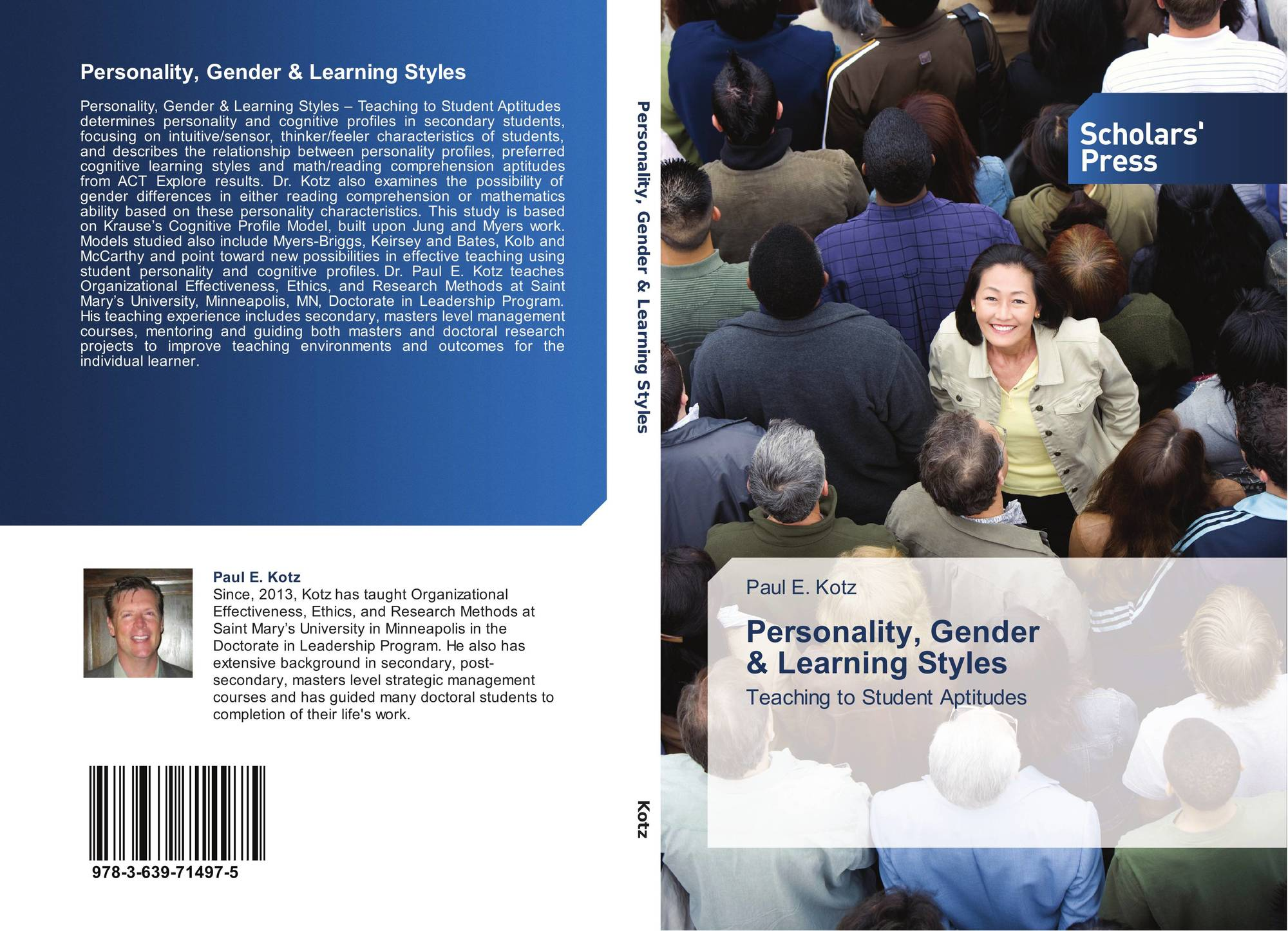 gender and personality Psychological research shows that one's sex or gender have little or no bearing on personality, cognition and leadership.