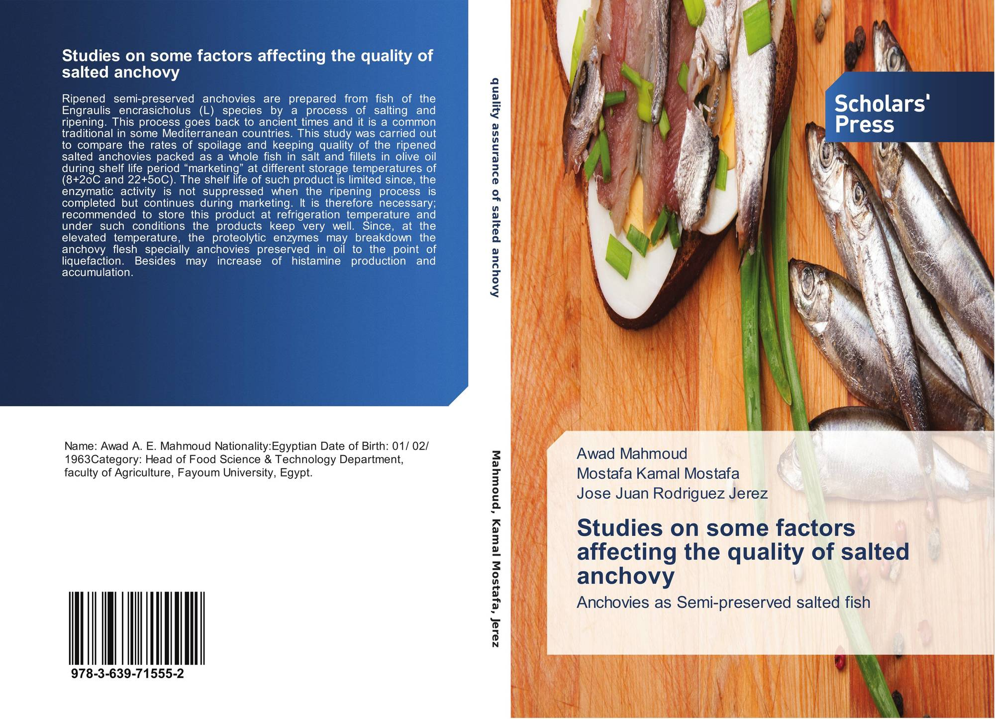 Studies on some factors affecting the quality of salted anchovy