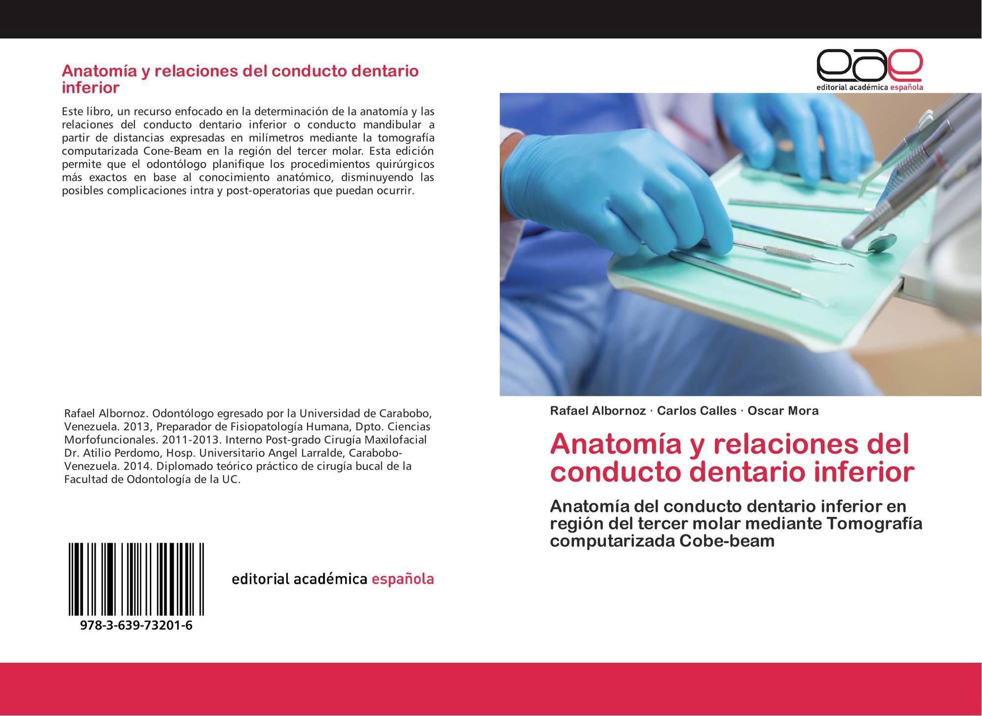 Anatomía y relaciones del conducto dentario inferior, 978-3-639 ...