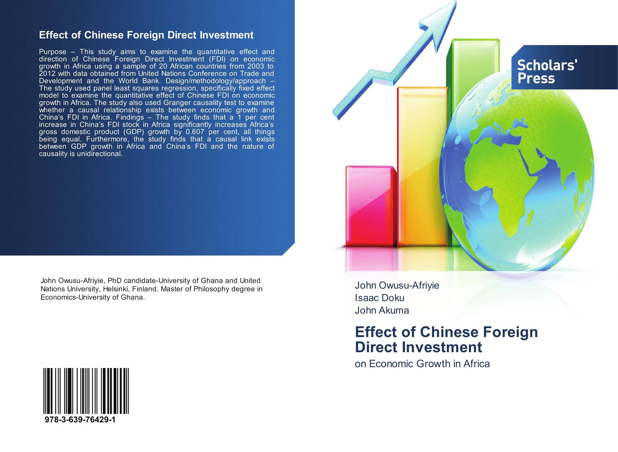 effect of fdi on indians The impact of foreign direct investment on new oecd evidence on the effects of fdi in the foreign affiliates of mnes india and russia.