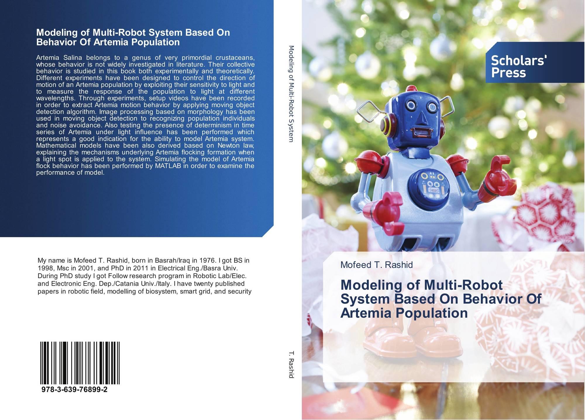 Modeling of Multi-Robot System Based On Behavior Of Artemia