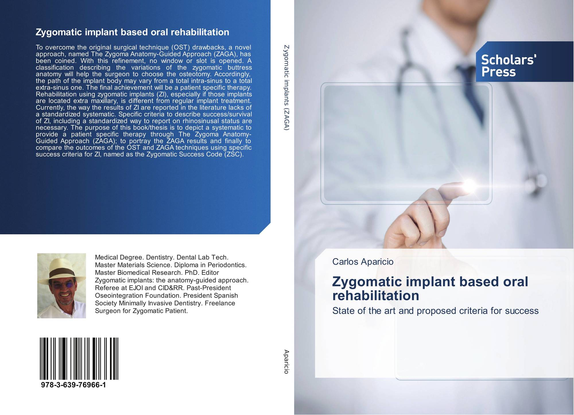 Zygomatic Implant Based Oral Rehabilitation 978 3 639 76966 1