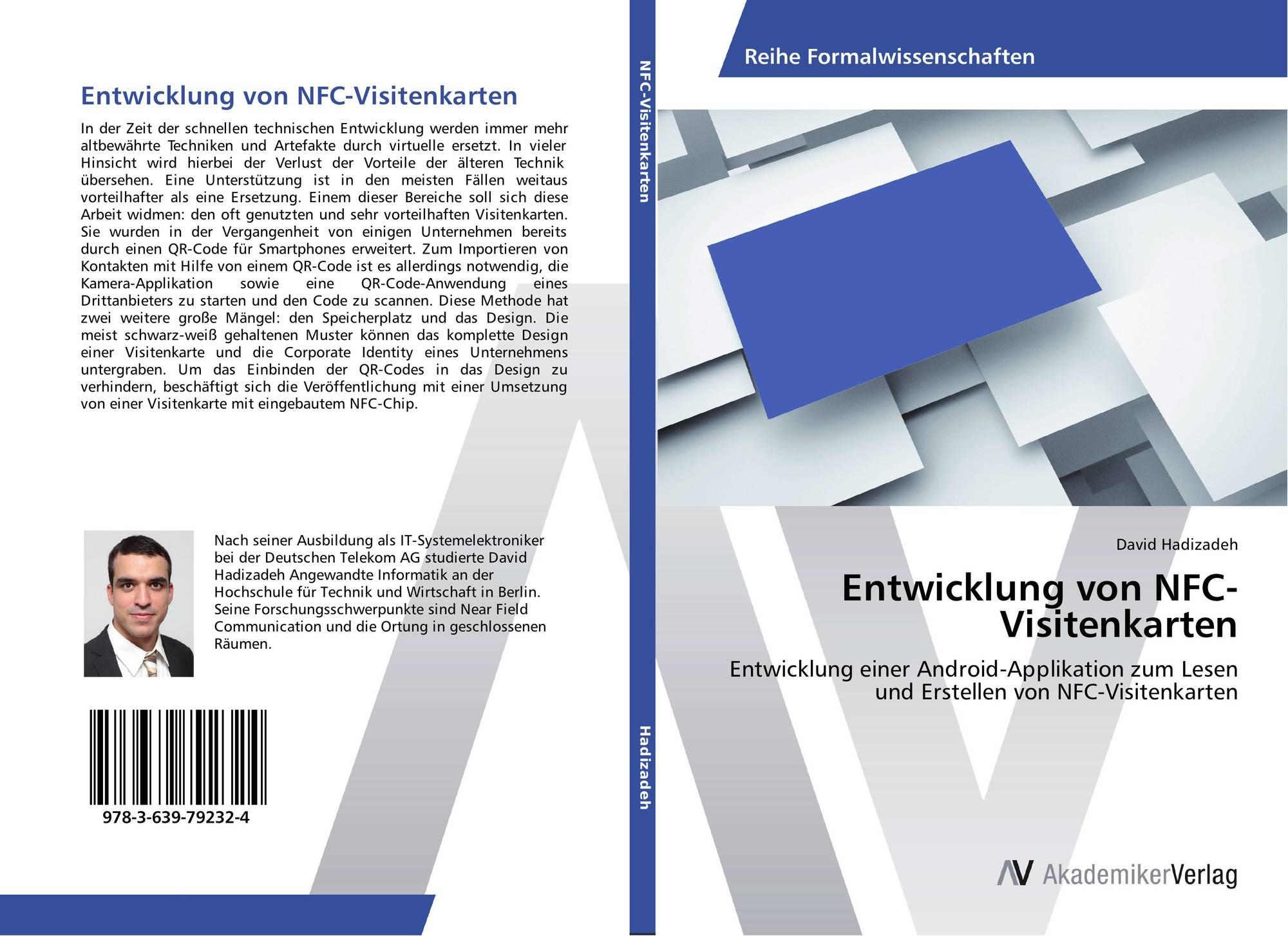 Entwicklung Von Nfc Visitenkarten 978 3 639 79232 4