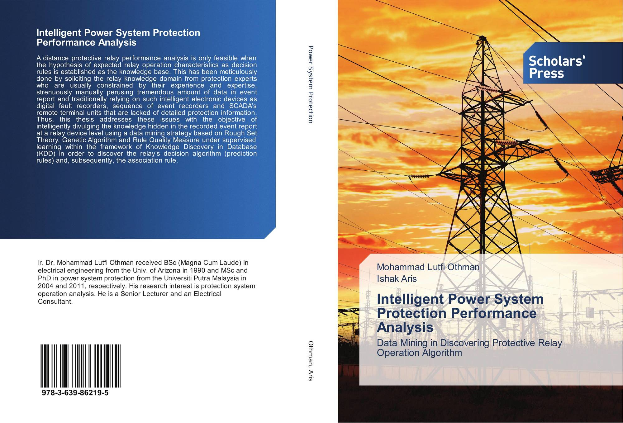 Intelligent Power System Protection Performance Analysis 978 3 639 Relay How It Works 9783639862195