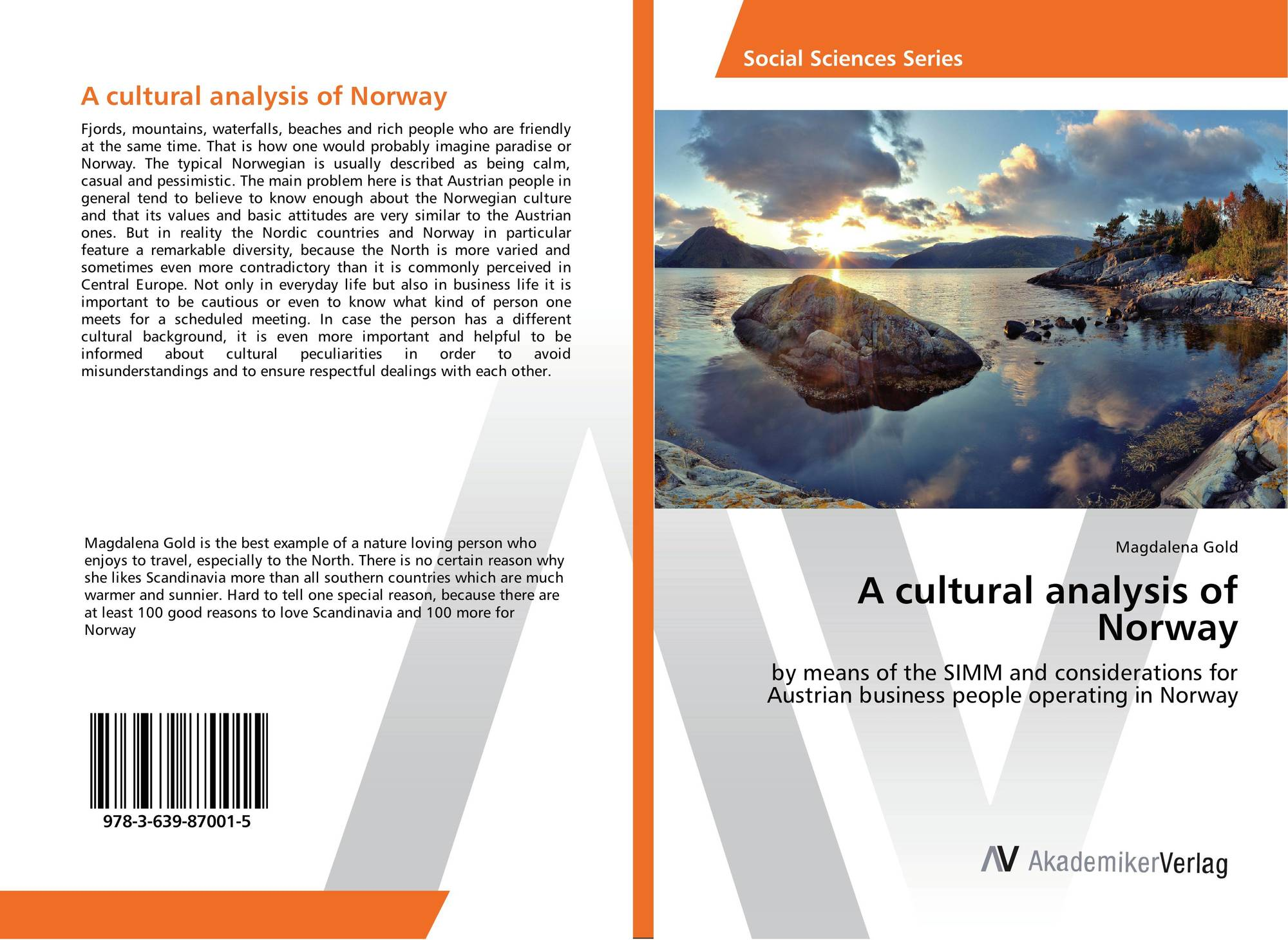 A cultural analysis of Norway, 978-3-639-87001-5, 3639870018