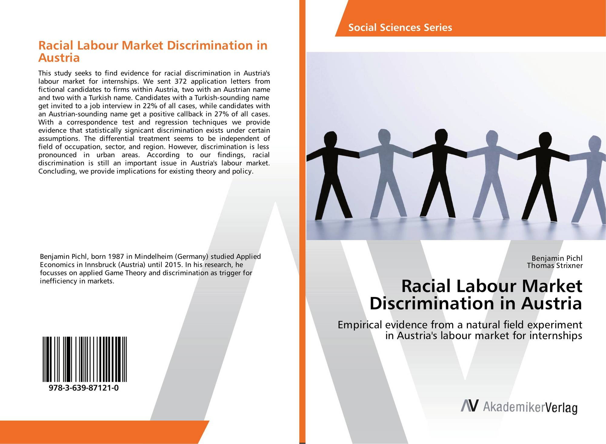 discrimination field experiments Identifying discrimination at work: the use of field experiments in this article, the authors report the results of a large-scale field experiment conducted in new york city investigating the effects of race and a prison record on employment.